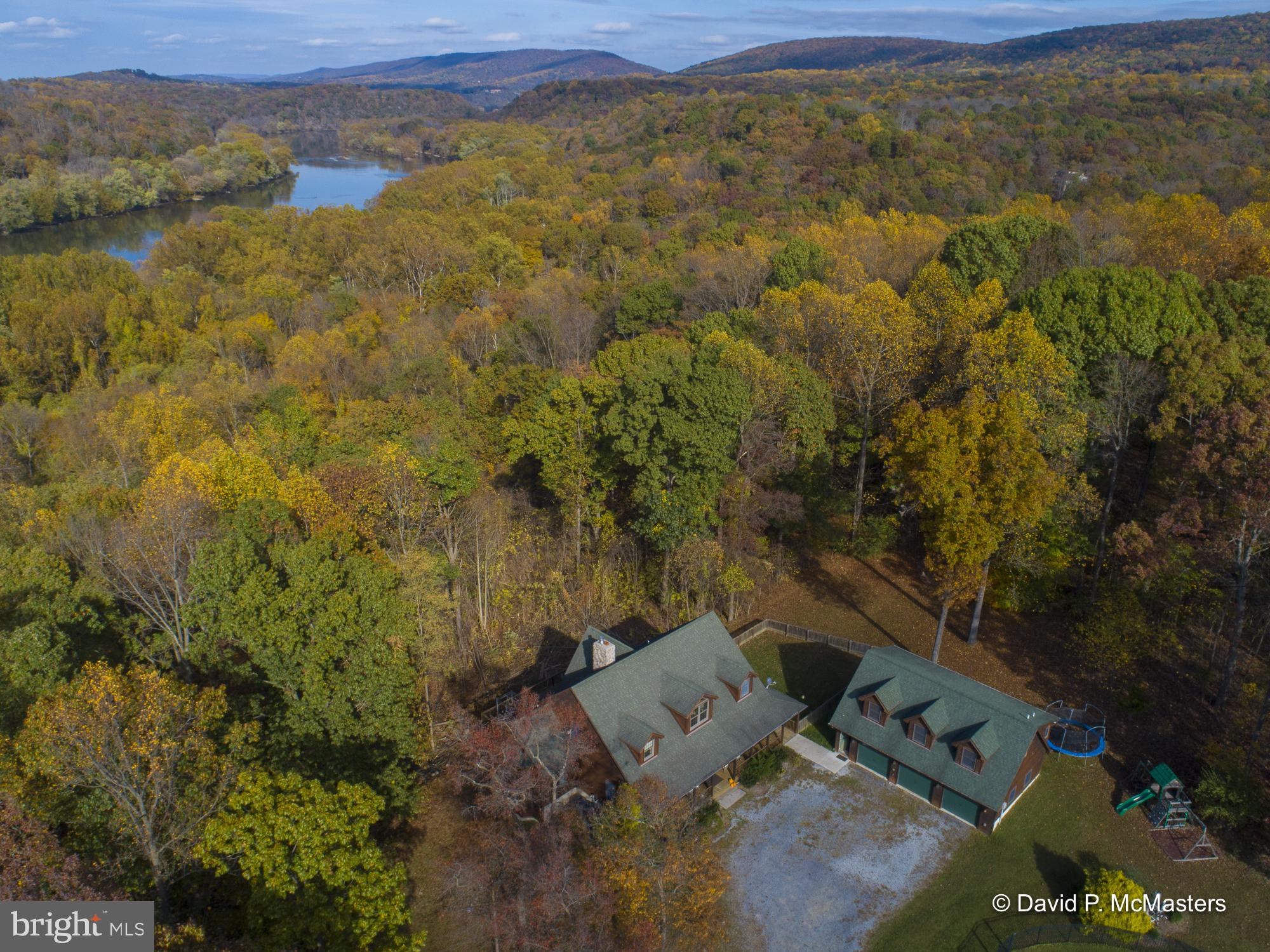A FABULOUS 32.7 Acre Shenandoah Waterfront property , CONSISTING OF 3 ADJACENT LOTS WITH A TOTAL OF