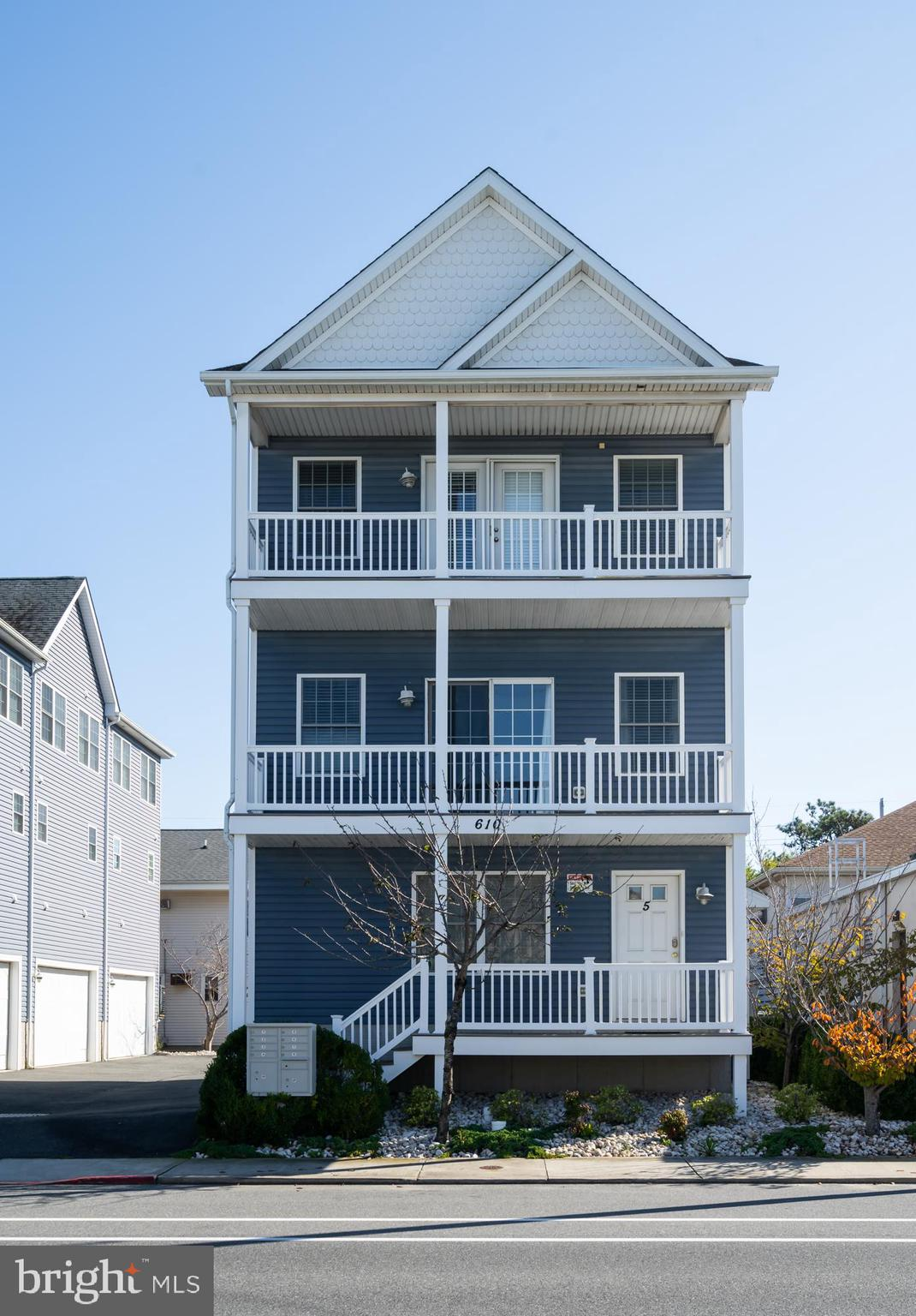 Spacious single family home located just blocks from Ocean City, Maryland's Famous Boardwalk and Beach. This 3 story home features a bright and open floor plan with vaulted ceilings, two master suites, and multi-level decking. Relax by the South Island Villas community pool as this complex has only 5 units. There is plenty of room for your vehicles with a 2 car rear entry garage, along with off-street parking. Enjoy two free fishing piers, as well as the Downtown Recreation Complex along the bay where you find a ballfield, playground, basketball courts, tennis courts, and the Ocean Bowl Skate Park. Restaurants, shopping, amusements, and the White Marlin Open fishing tournament are all within a short distance. This home has never been rented. The projected rental income is $40,000 + per year.
