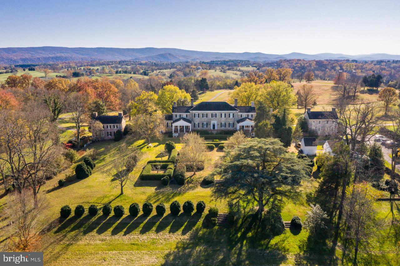 CARTER HALL:  This circa 1797 historic mansion is situated high on 87 acres of gently rolling open s