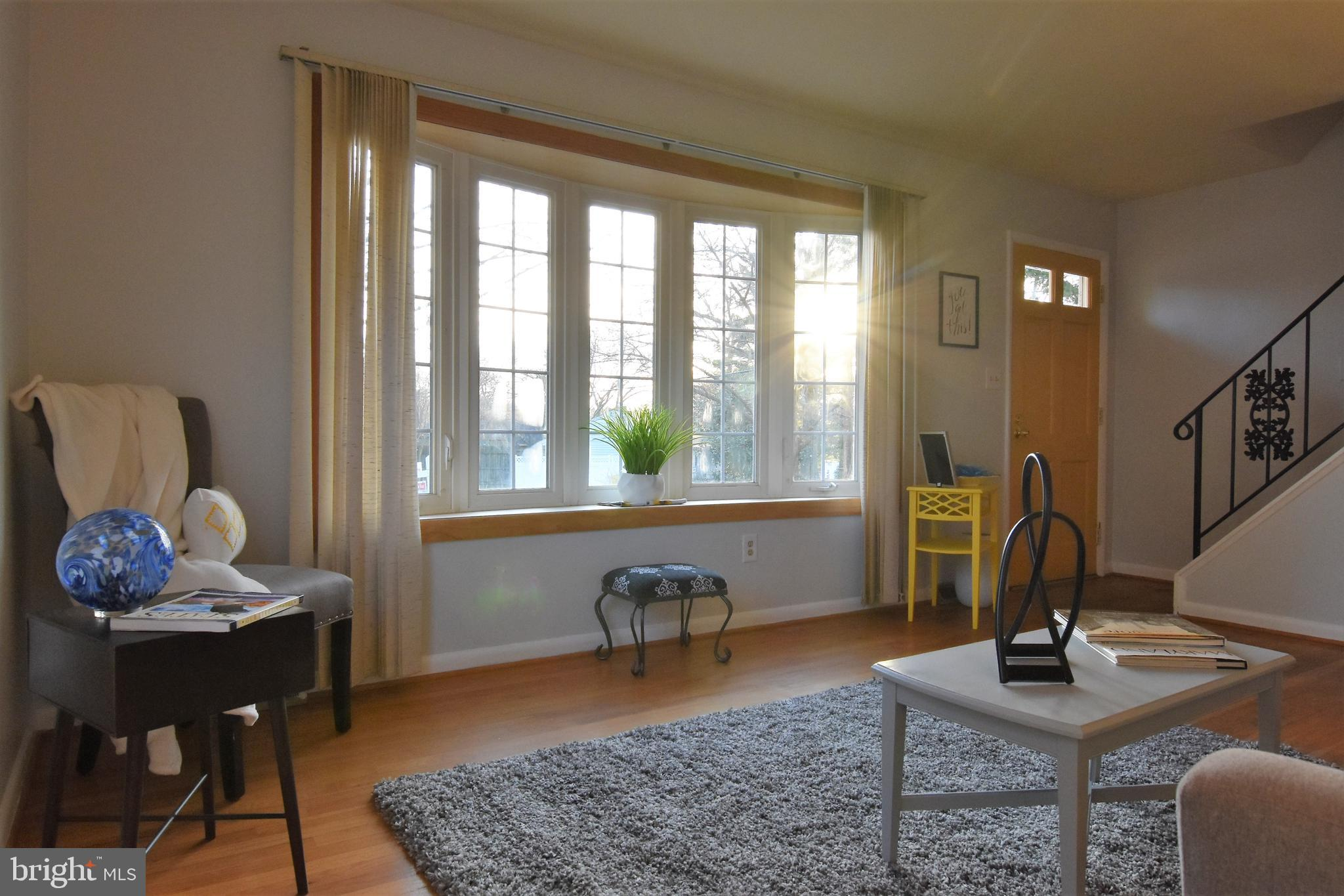 Estate Sale Updated kitchen with granite countertops and ceramic tile, hardwood floors through out t