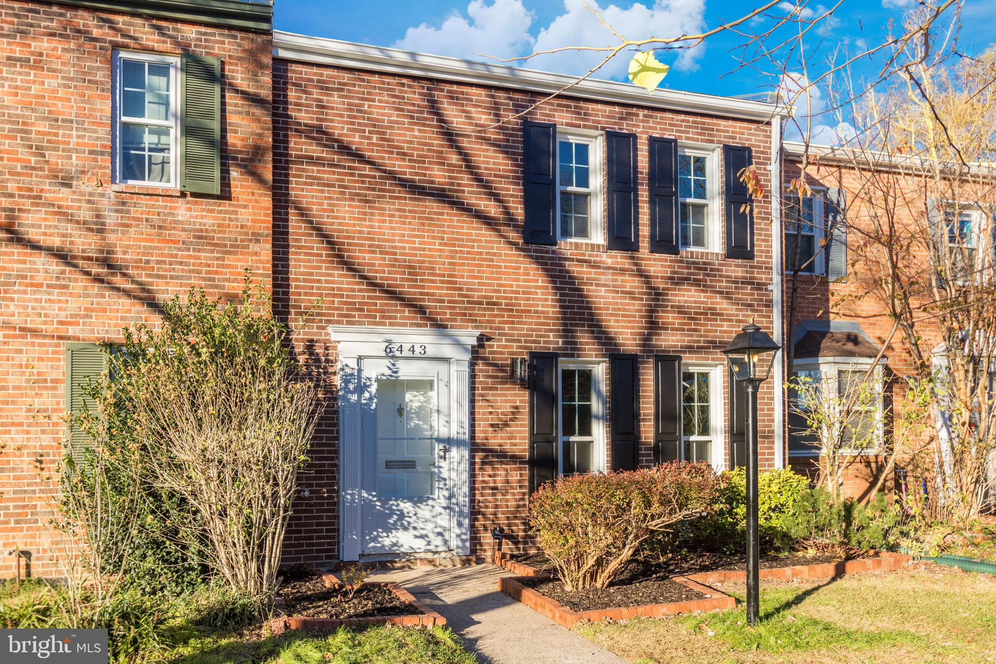 Beautifully renovated from top to bottom three level brick townhome in desirable Georgetown Woods! S
