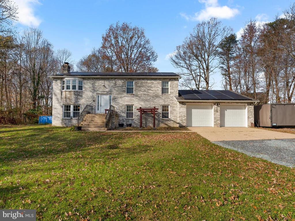Welcome to this private and spacious 4 bed 3 bath brick home! The fully fenced yard creates a quiet