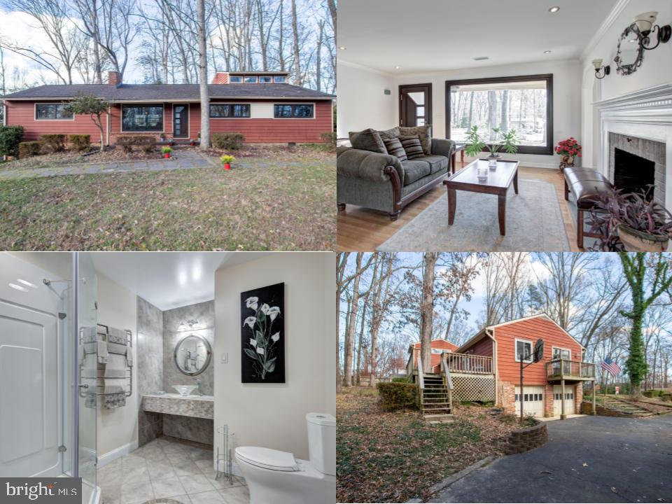 Secluded and silent wooded neighbor inside the beltway and central to all of Northern Virginia. Surr