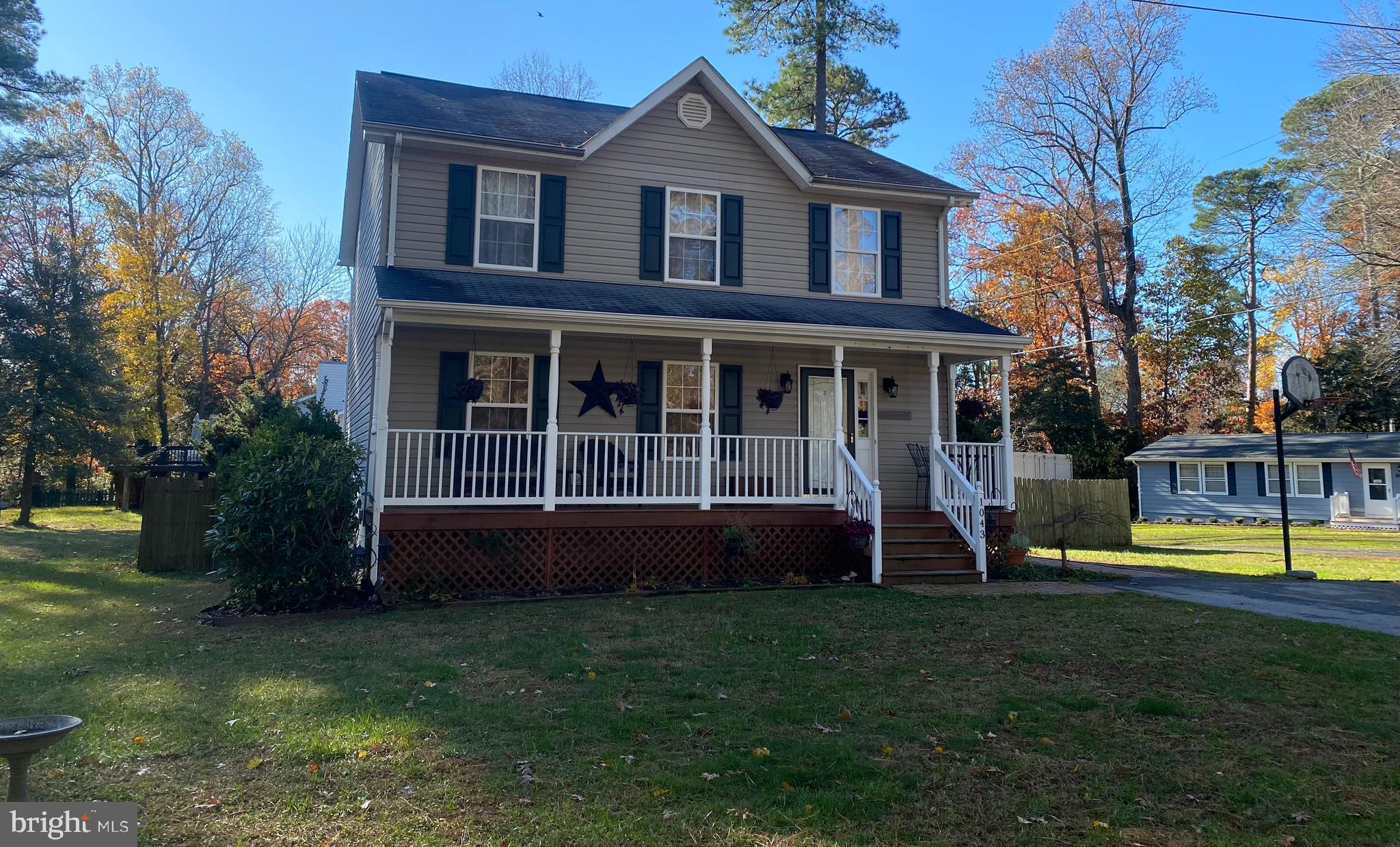 This adorable two story colonial is a must see! The home sits on a corner lot on a quiet street whic