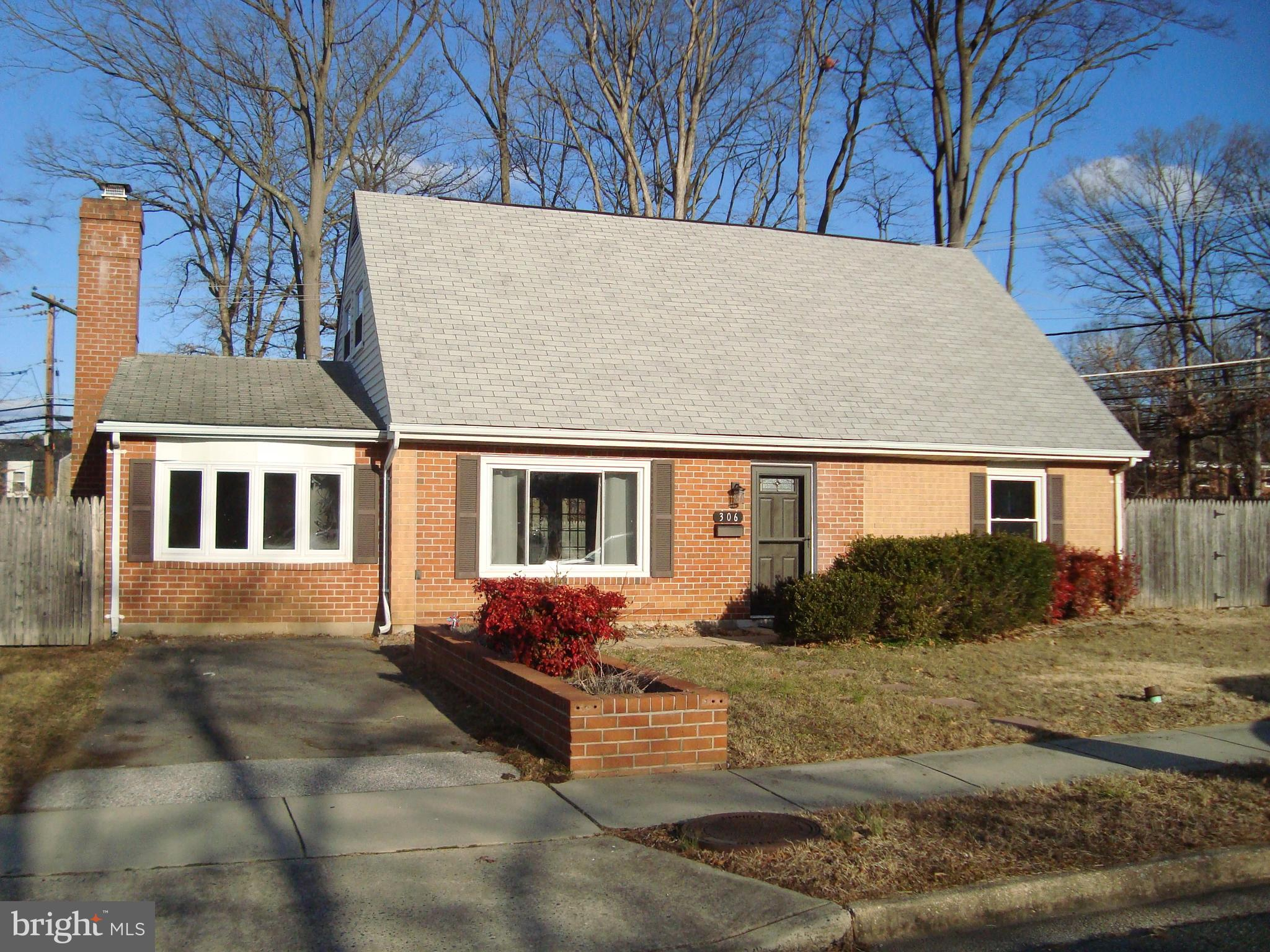 Convenient location.  Fresh paint and carpet throughout .  Neutral colors.  Wood burning fireplace i