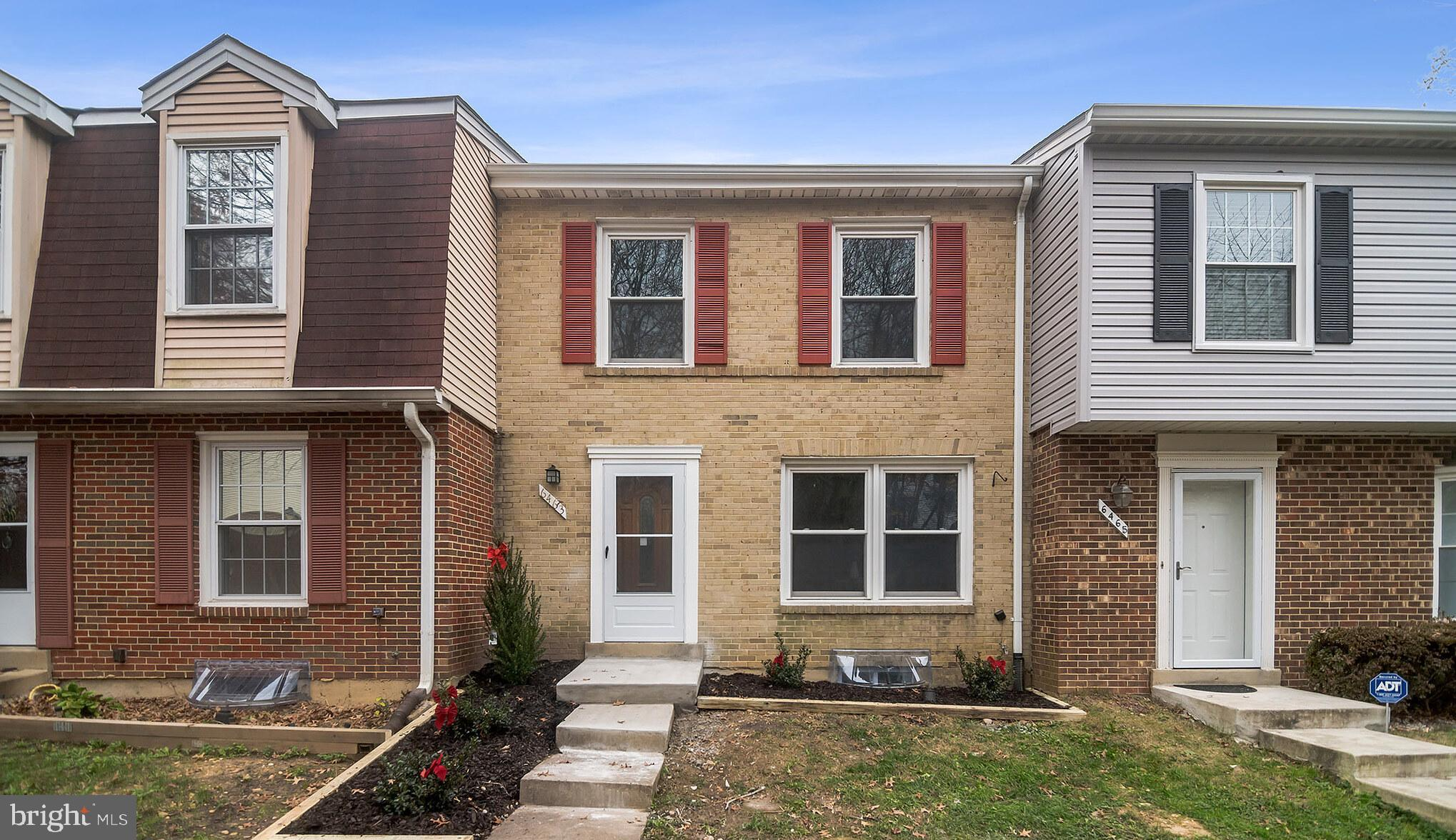 Beautifully newly renovated  townhome in sought after neighborhood of Windsor Park.  Three fully fin