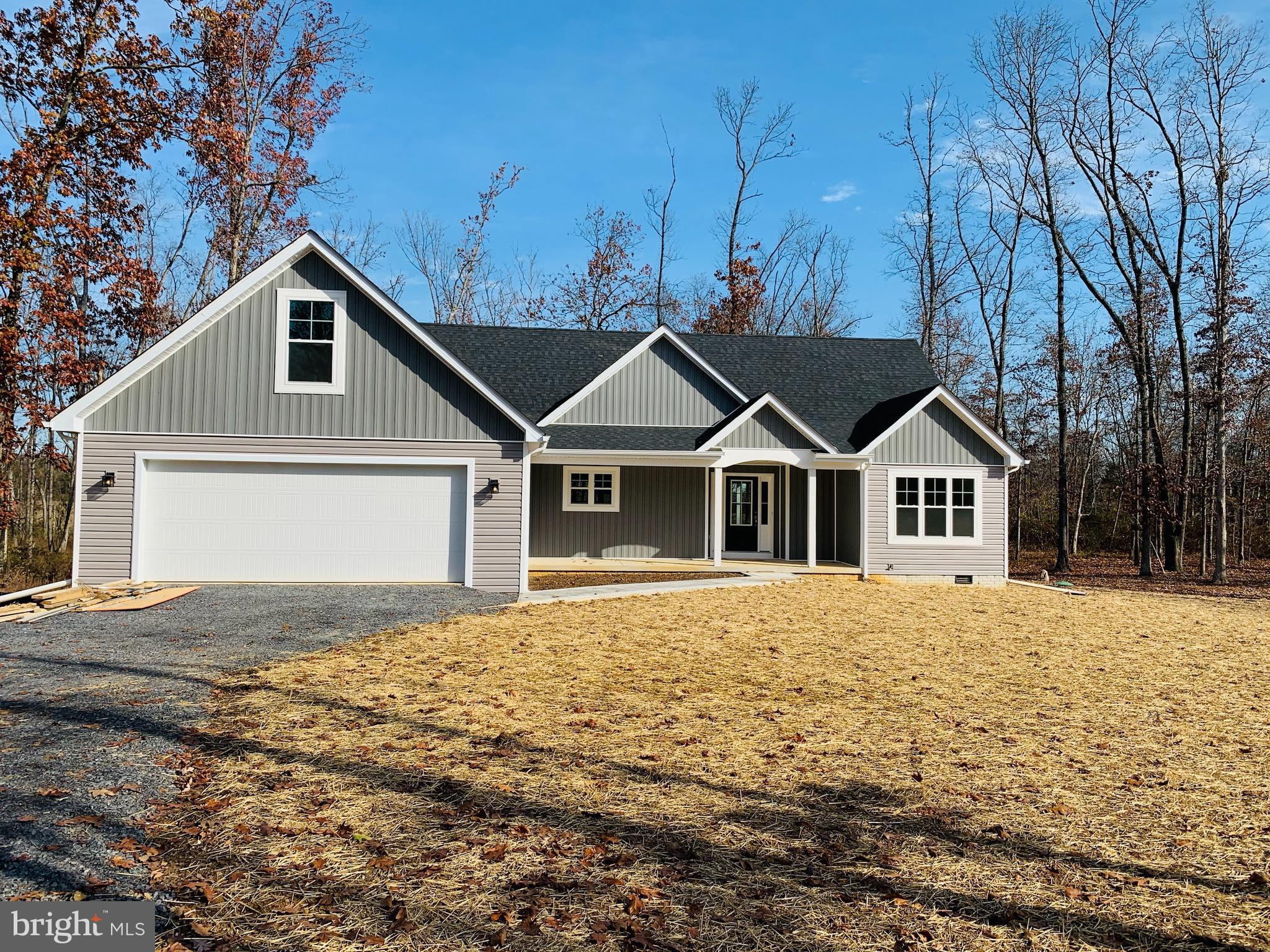 Just in time for Christmas!  Just completed Rancher style home with 4 bedrooms, 3 full baths,  large