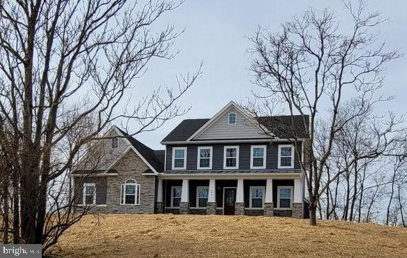 April delivery on this great home situated on 3+/- acres. Quartz counter tops, freestanding slipper