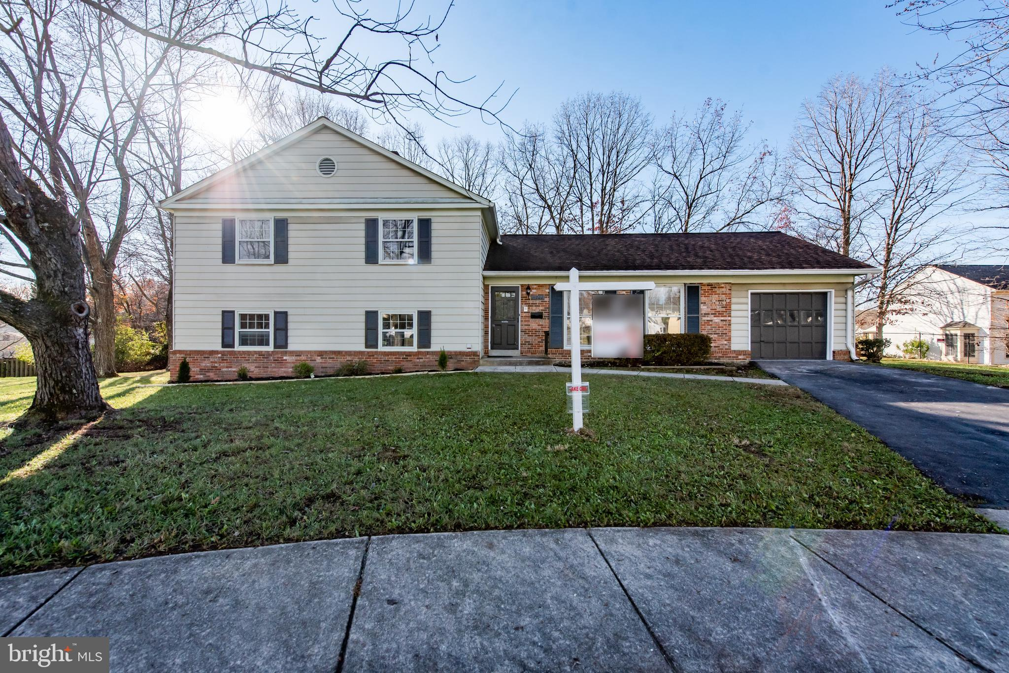 A gorgeous .56 acre homesite sets the stage for this move-in ready brick accented split level home!