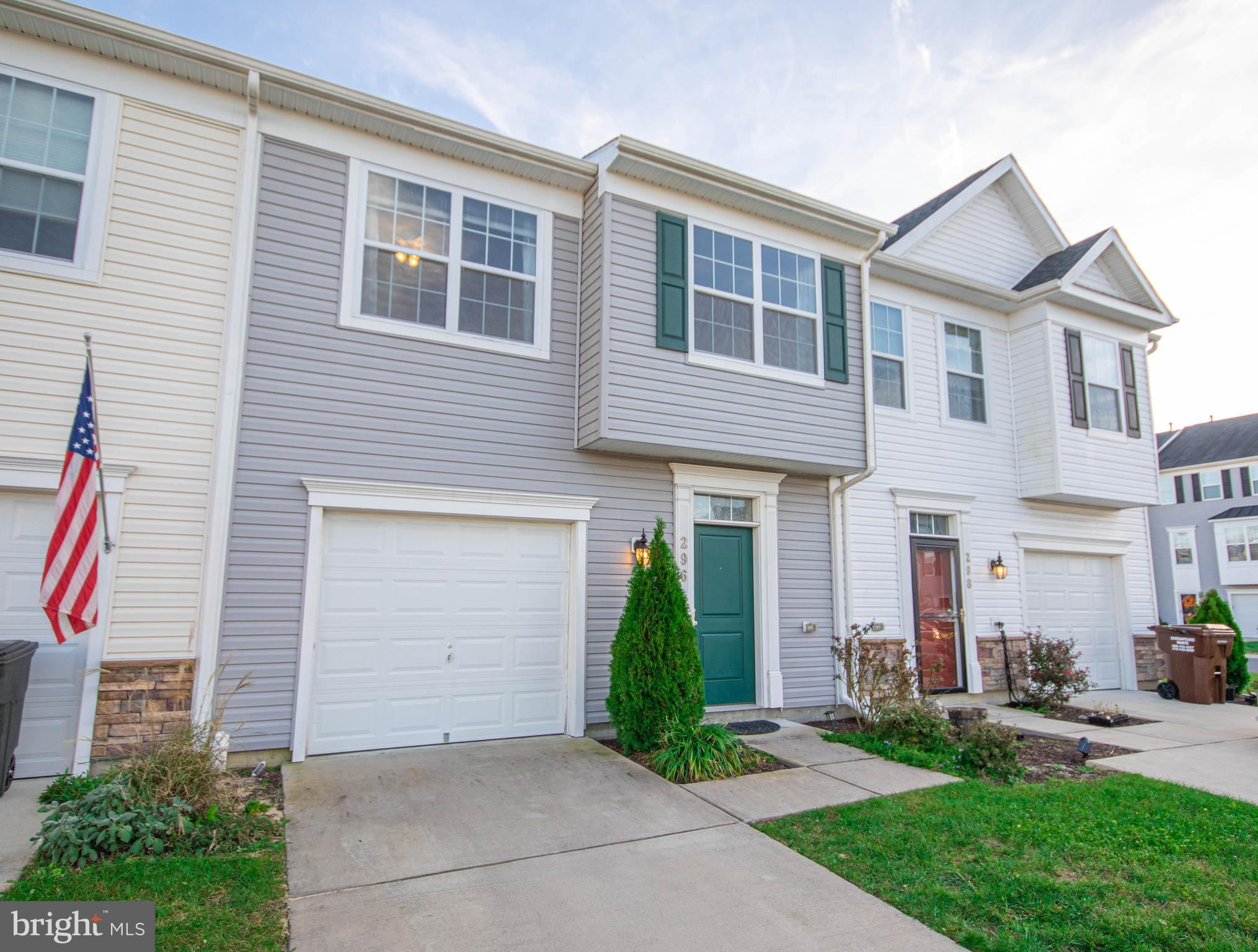 Fabulous townhome in better than new condition!  Over 1800 sq ft and an attached garage and don't ev