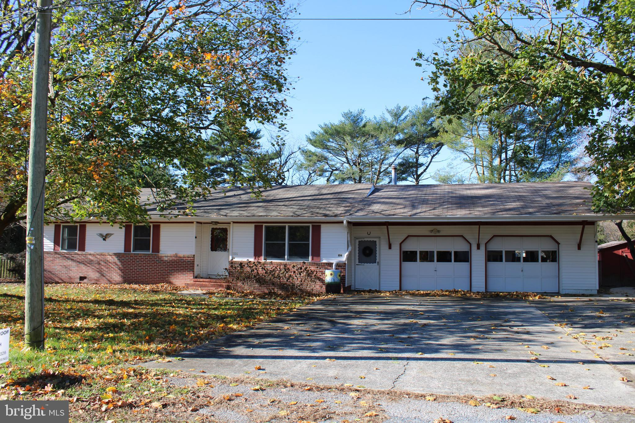 3 bedroom, 2 bath home. 2 car attached garage. Septic pre-inspected. Hardwood floors. Clean and move