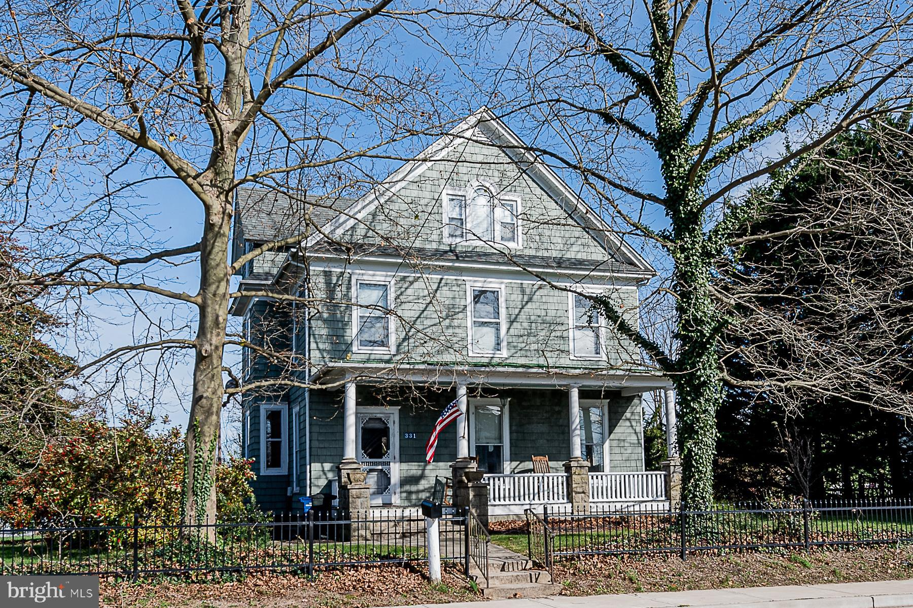 Gorgeous colonial in the heart of historic Centreville on large 1/2+ acre lot!    Offering all of th