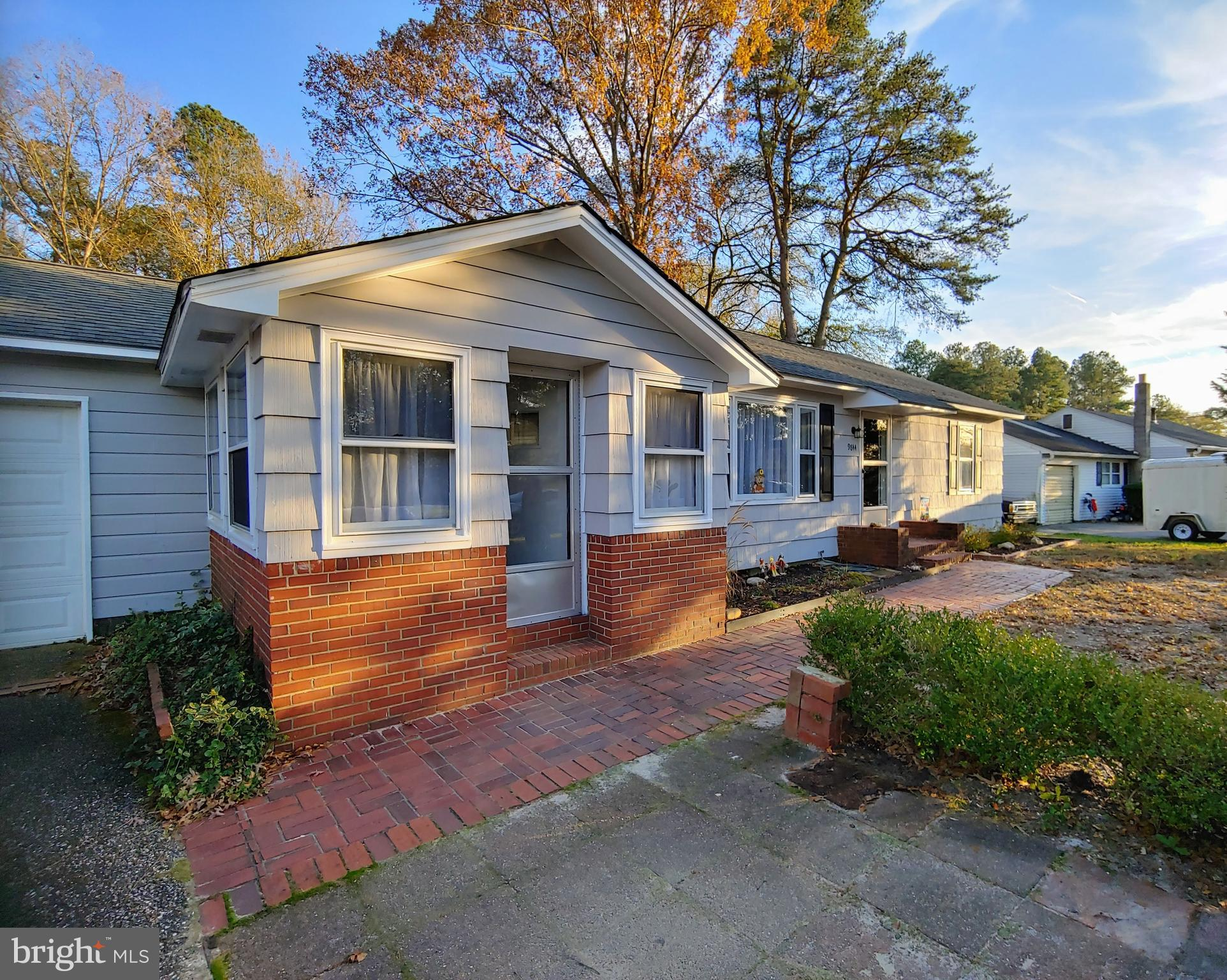 Renovated 3-bedroom, 1.5 bath home on large lot in quiet neighborhood outside of Seaford town limits