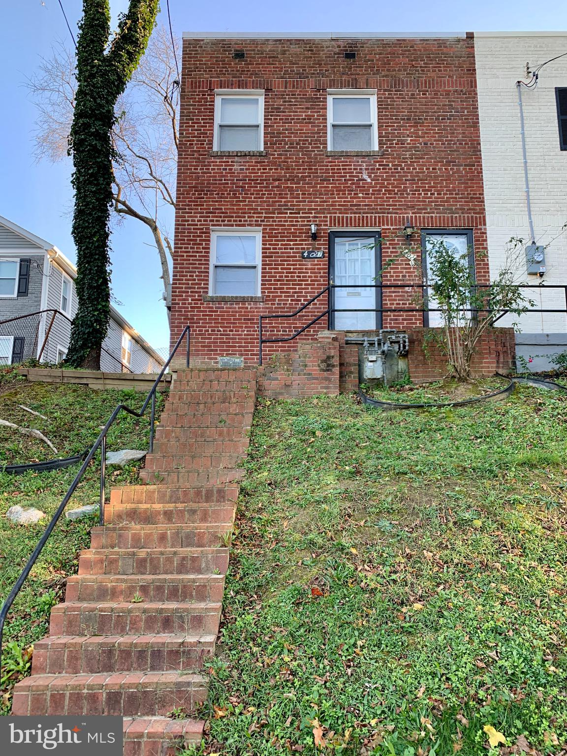 INVESTORS ALERT! This is an excellent opportunity to invest in your own duplex near Fort Dupont Park