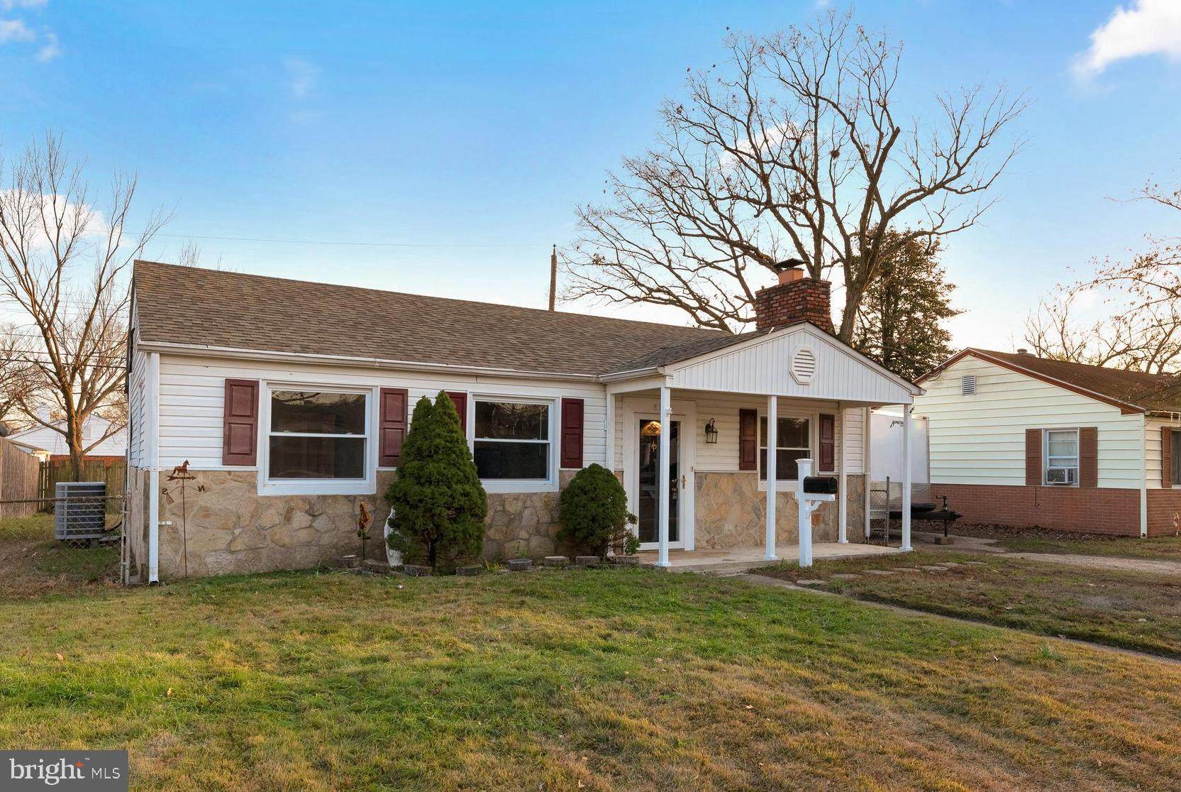 Updated and move in ready! 3 bedroom & 1 full bathroom rancher in Harundale.  Rear kitchen addition