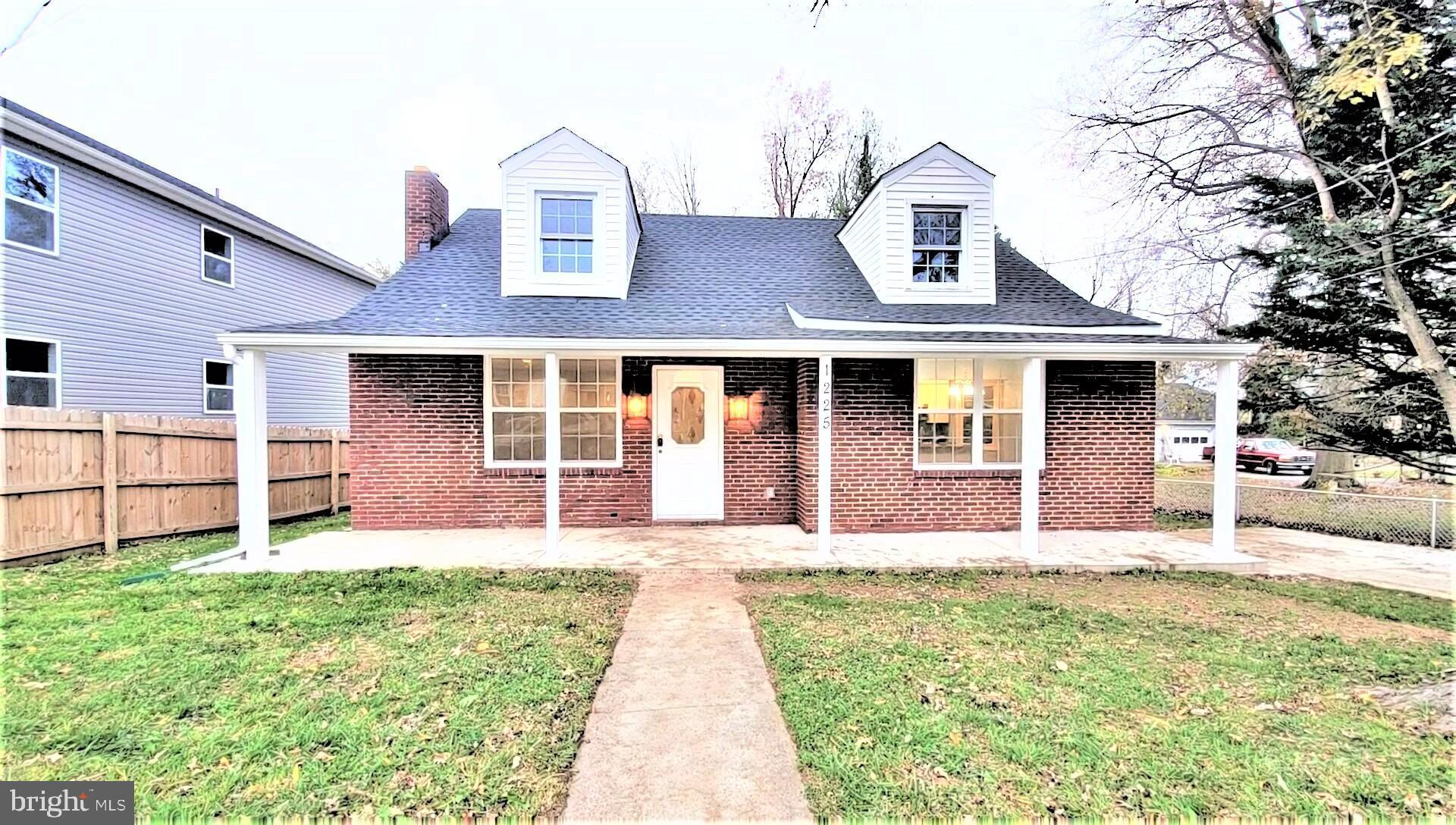 New fully renovated 4 bedrooms, 2 baths near the heart of Arbutus with Baltimore county building and