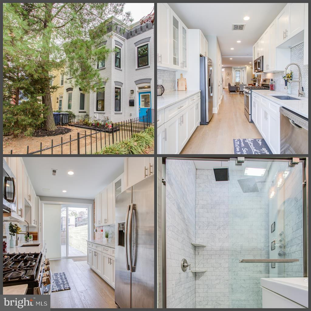 Stunning renovation of this spacious DC Colonial Row House. No expense spared. Hardwood floors. Rece