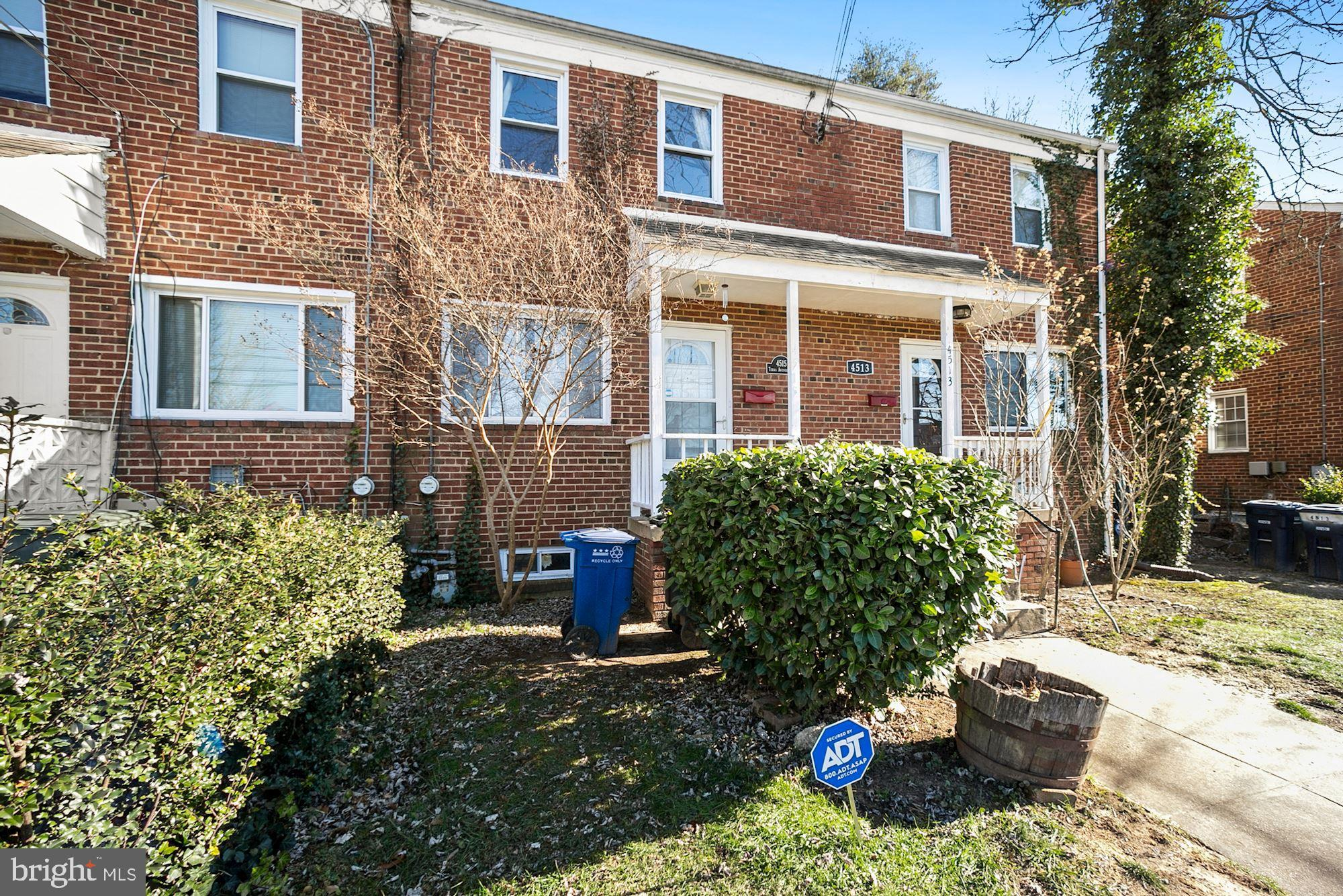Renovated, lovingly maintained, bright and airy home in Fort Dupont Park!  Tremendous opportunity in
