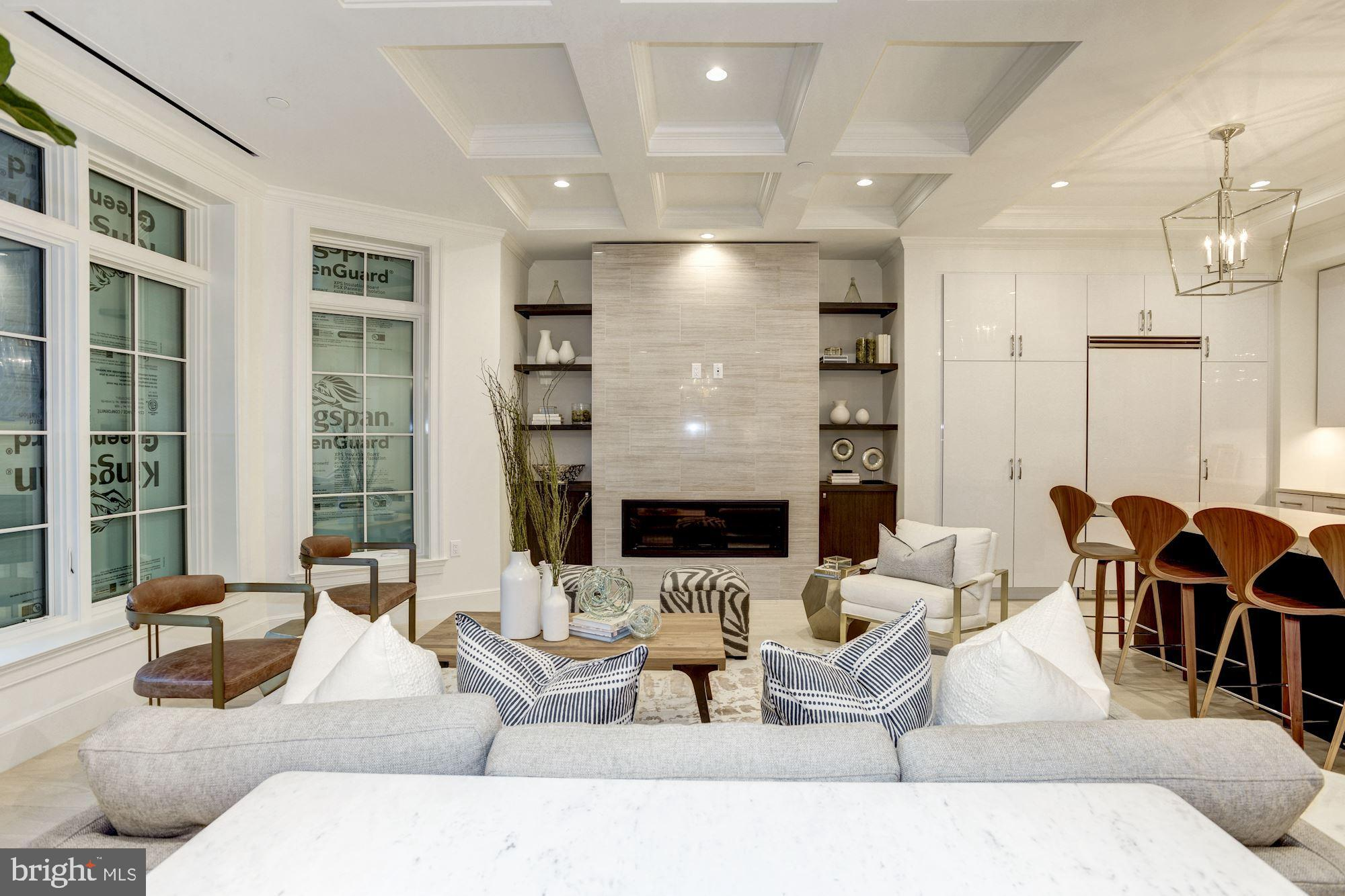 STUNNING 2 BR + DEN +2 BA  + 1 PKG located in the epicenter of historic Dupont Circle. THE PACIFICA