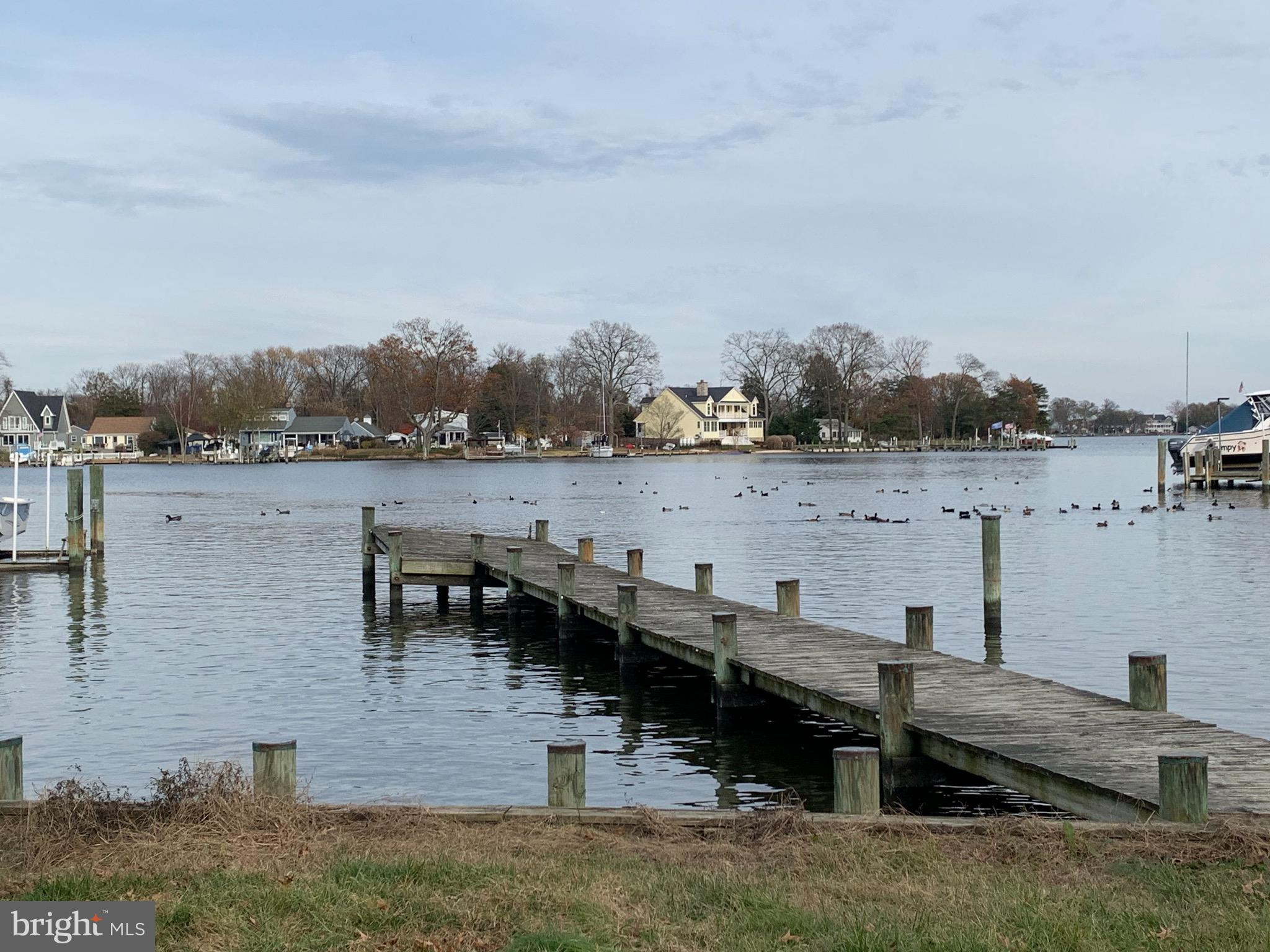 GREAT WATERFRONT / STRICTLY AS IS ... 3 bedroom,  2.5 bathroom home on the Bodkin.    Panoramic view