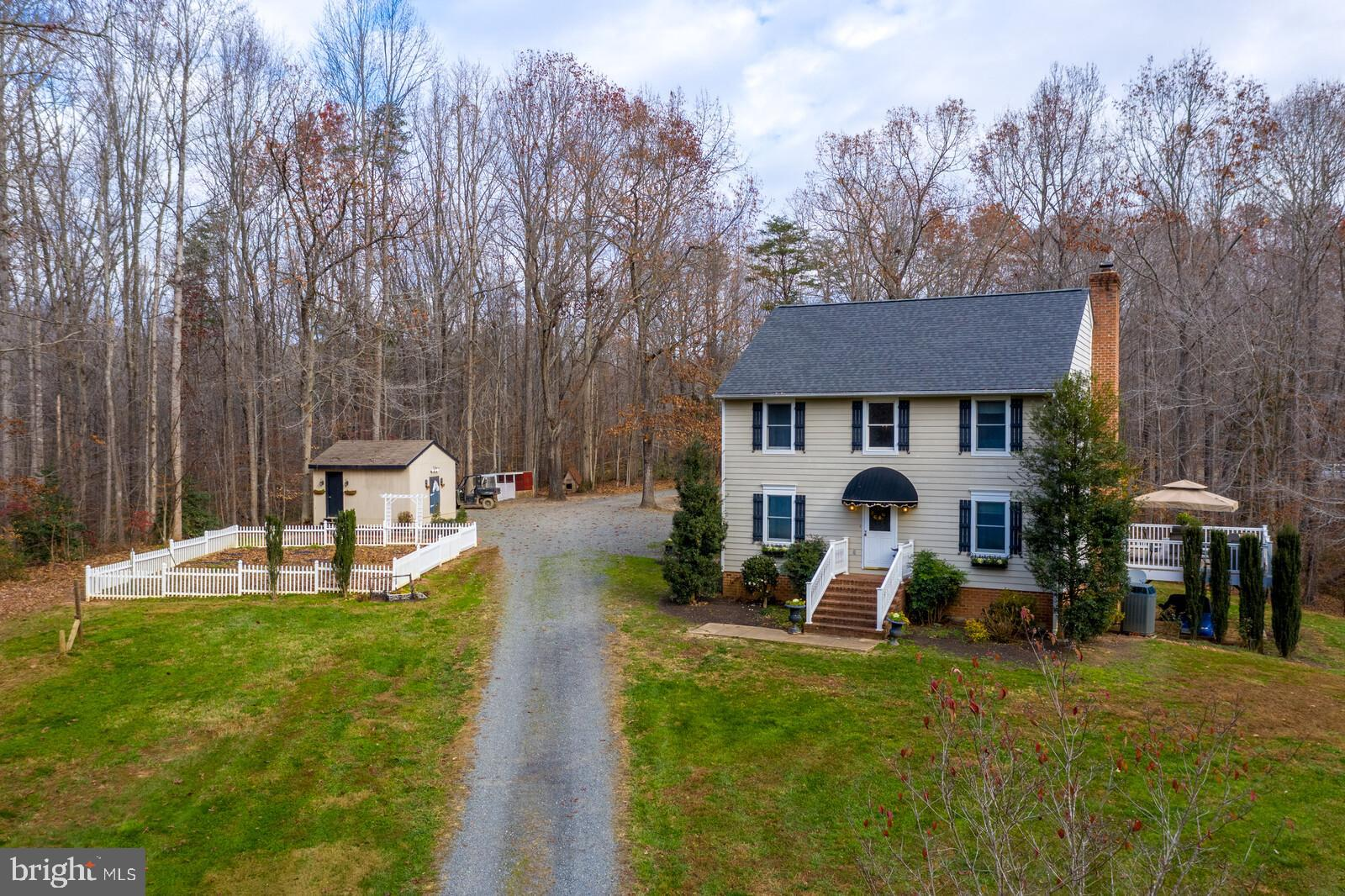 Wow! This property has it all, and then some. 4 bedroom 3 bath colonial on almost 18 acres, large 4