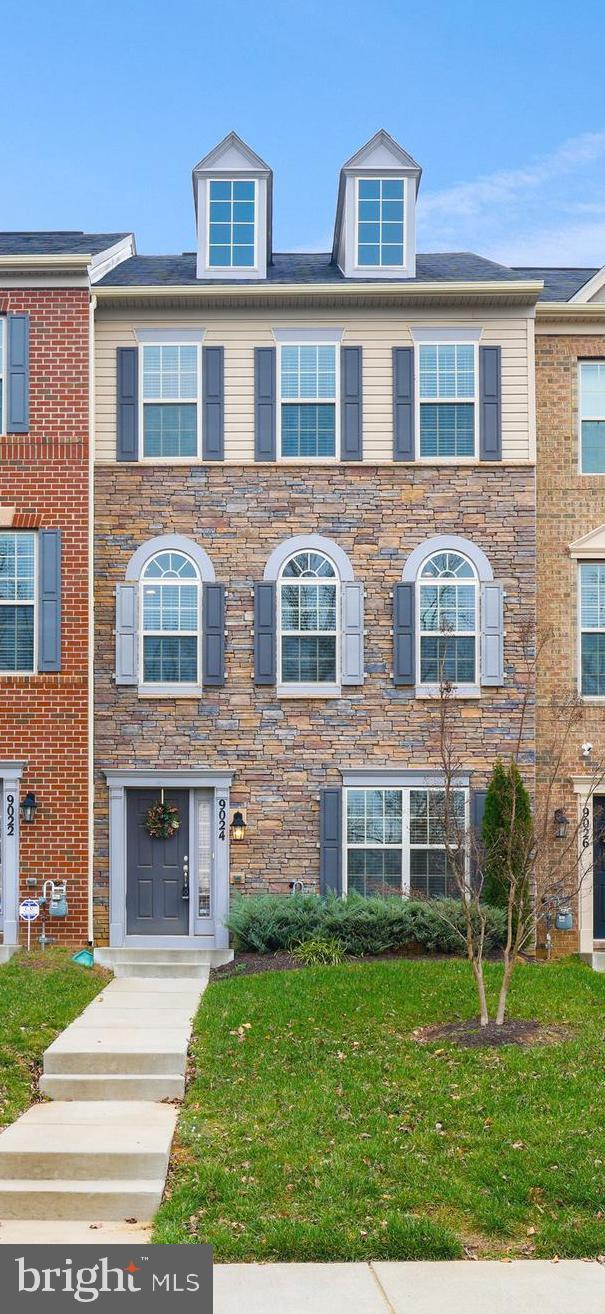Why wait for new construction when this 5-year DR Horton resale townhome is available for immediate
