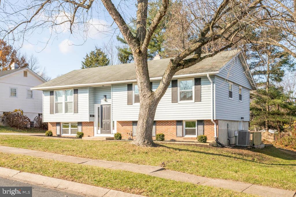 Welcome home to  a remodeled 3BR / 2BA split foyer in Edge Mead.   This home boasts beautiful hardwo