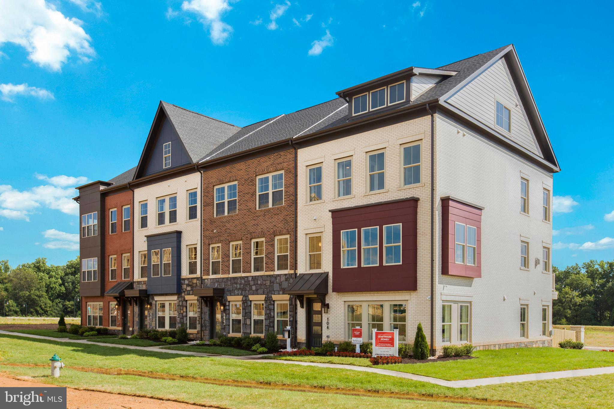 NEW CONSTRUCTION. CRAFTMARK HOMES @ CROWN. LUXURY 4 LEVEL END HOME, 2 CAR GARAGE TOWNHOME W/STANDARD