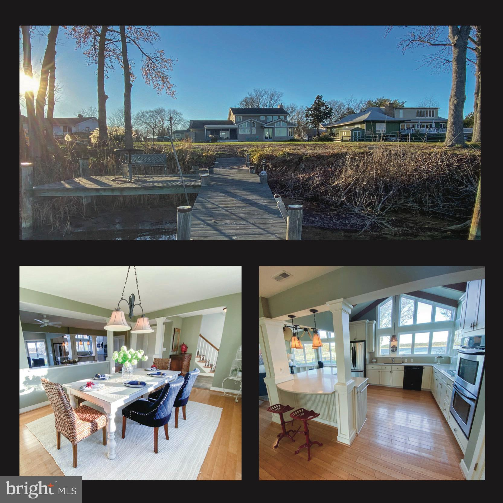 Looking for a waterfront home with deep water? How does 6ft MLW sound? Add spectacular views of Pric