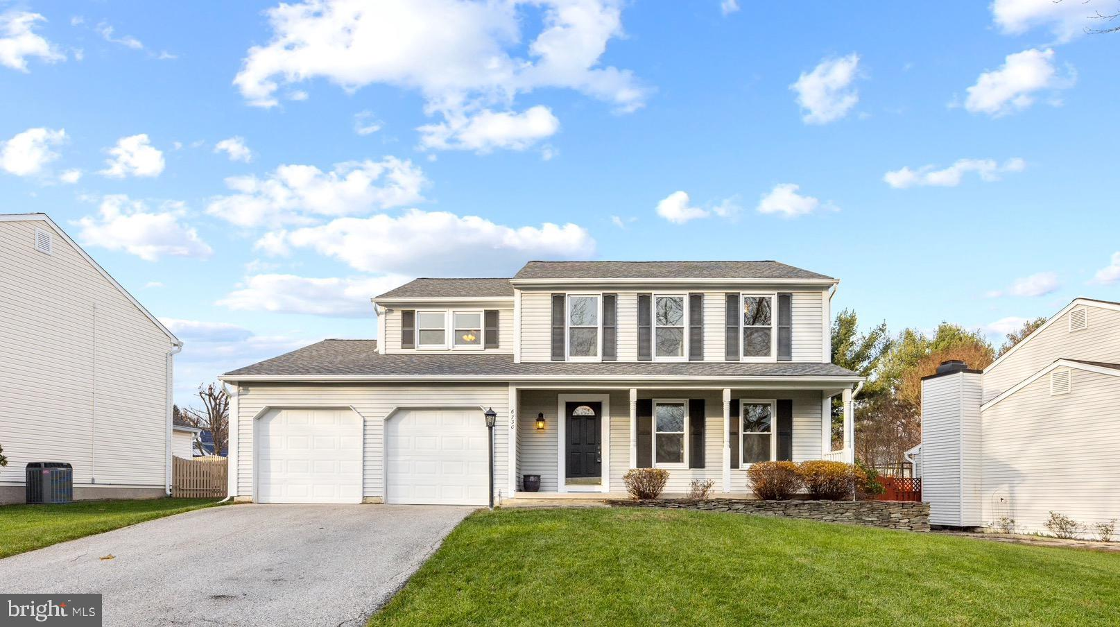 Welcome home to this beautifully updated, 4 bed, 2.5 bath colonial perfectly located in the heart of