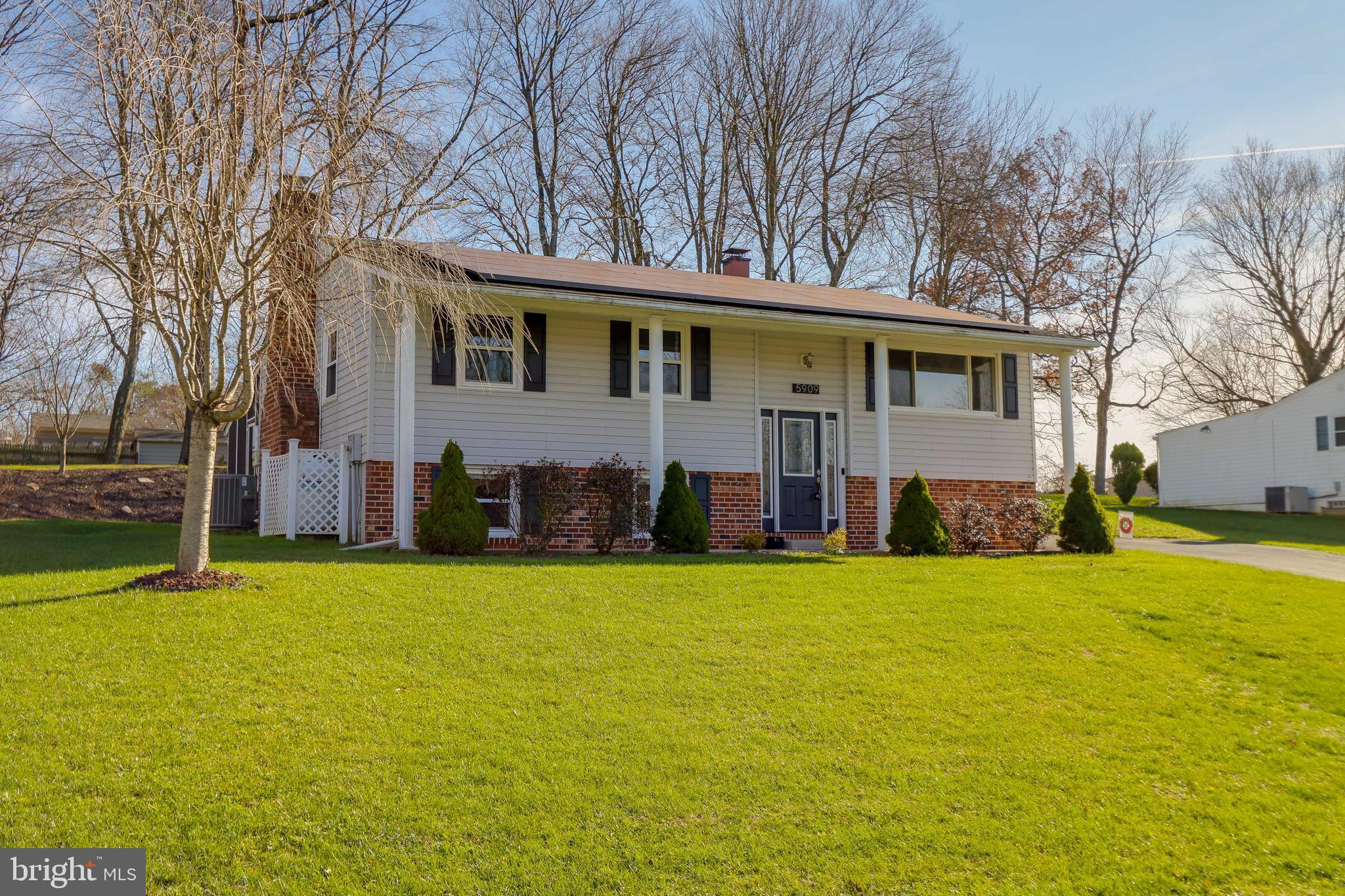 Lovingly cared for and updated home has a lot to offer the new owners.  Spacious main level w/hardwo