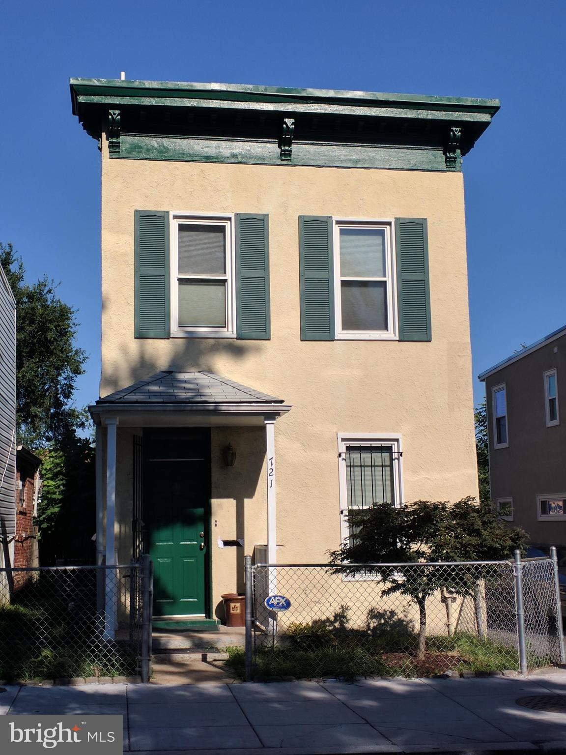 Huge detached home near H Street Corridor, in need of some repairs to make it shine again or could b