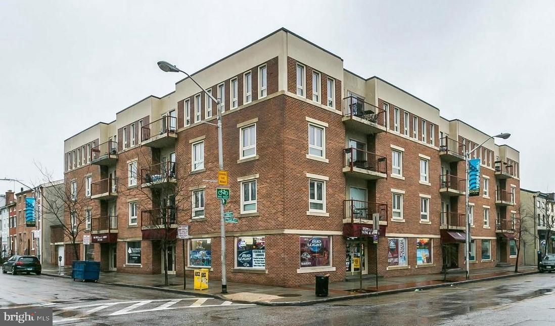 An incredible opportunity at this price in Henrietta Square!  Enjoy this updated two bedroom, two full bath condo unit offering a deeded secure garage parking space.  Steps to Federal Hill's shopping district, the stadiums and the Inner Harbor!  Enjoy two balconies, one from the open Living Room & the second from your bedroom.  Don't miss the wood burning fireplace, kitchen w/stainless appliances and much more.  Make your appointment today!