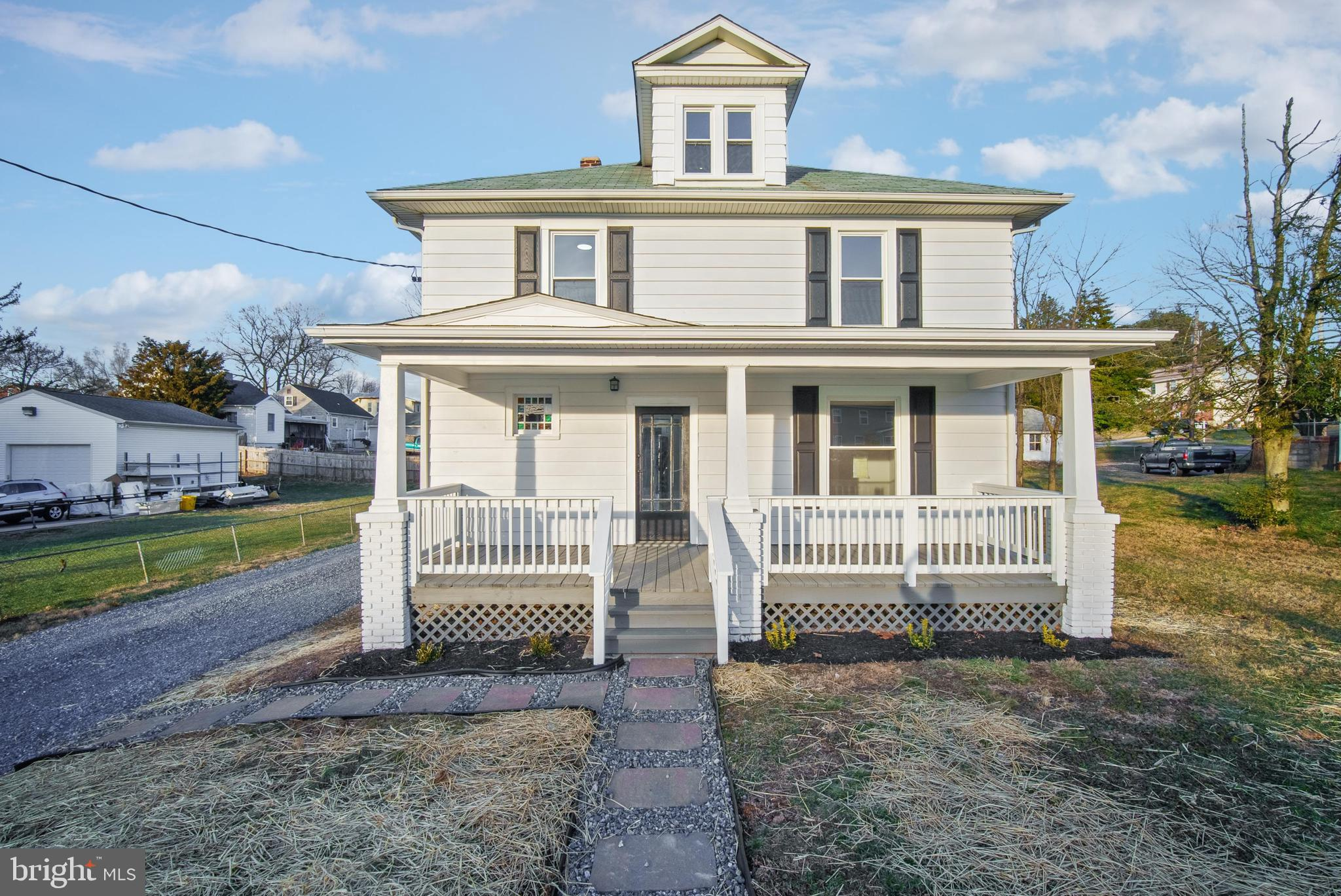 Amazing Renovation of a 4 bed/2 full bath colonial with a new gas furnace & AC, all new double pane