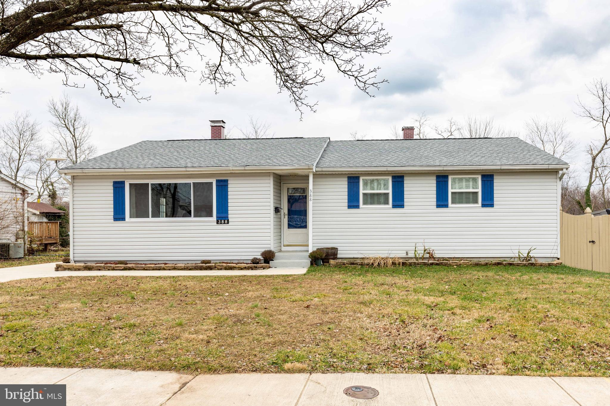 *Welcome to this Immaculate 4BR 3BATH Energy Efficient Rancher with private back yard*Maryland City'