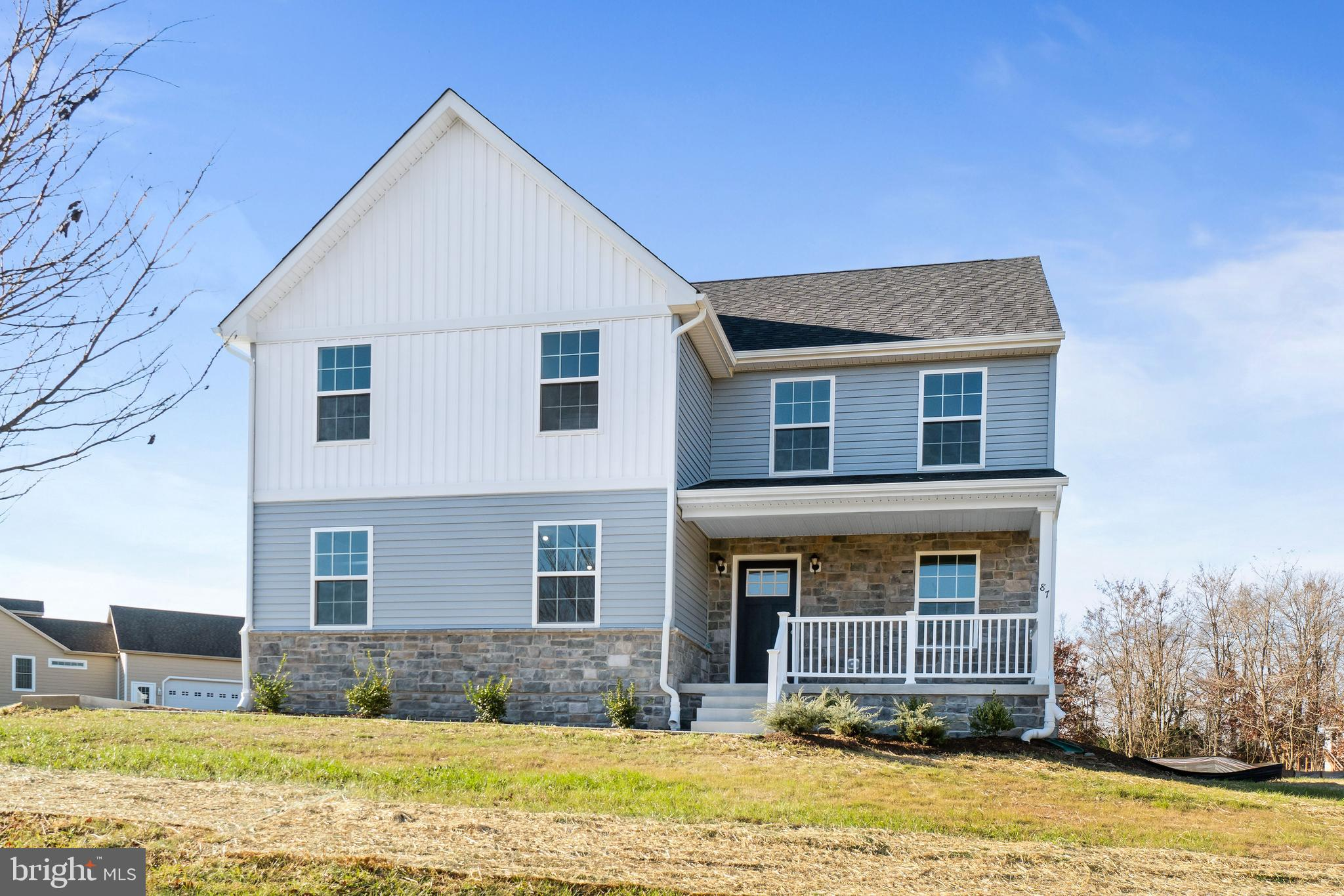 RARE QUICK DELIVERY NEW CONSTRUCTION BY LARSON'S CUSTOM HOMES. THIS FAIR HILL LOCATION IS ONLY 6 MIN