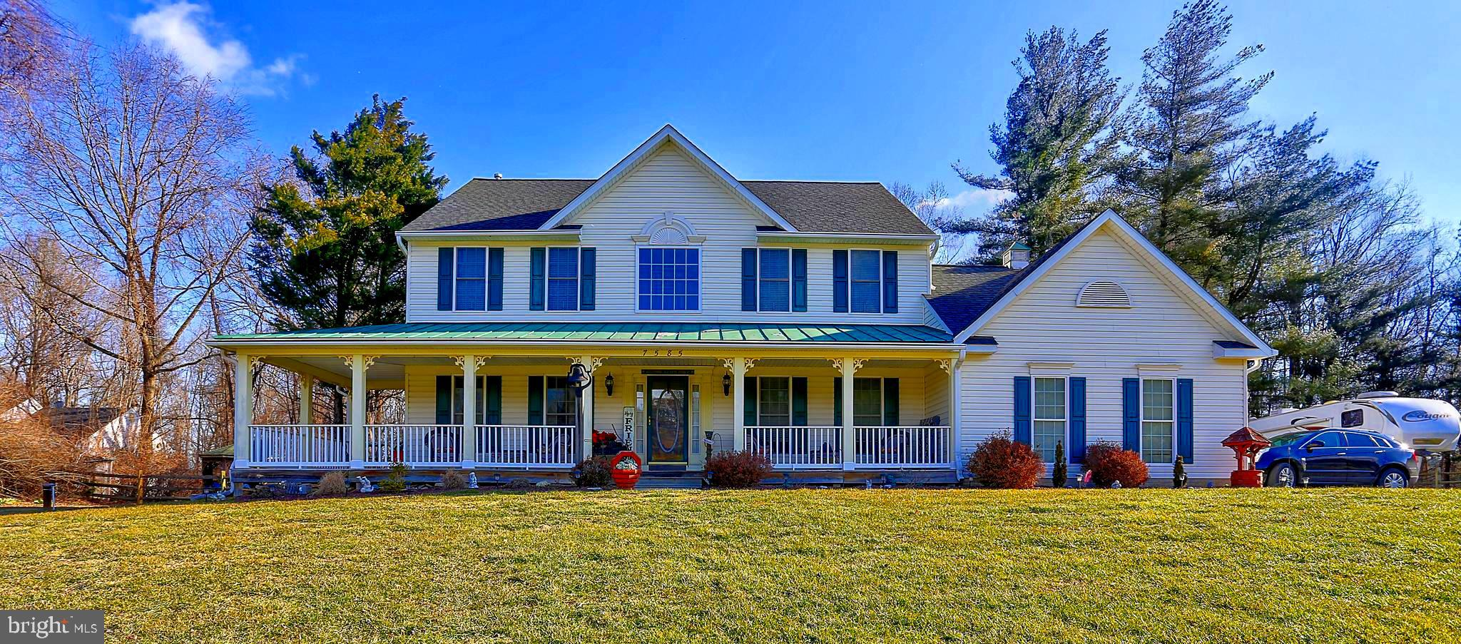 Gorgeous custom built home situated on 2 acres in Carroll County.  Enjoy this summer in  you persona
