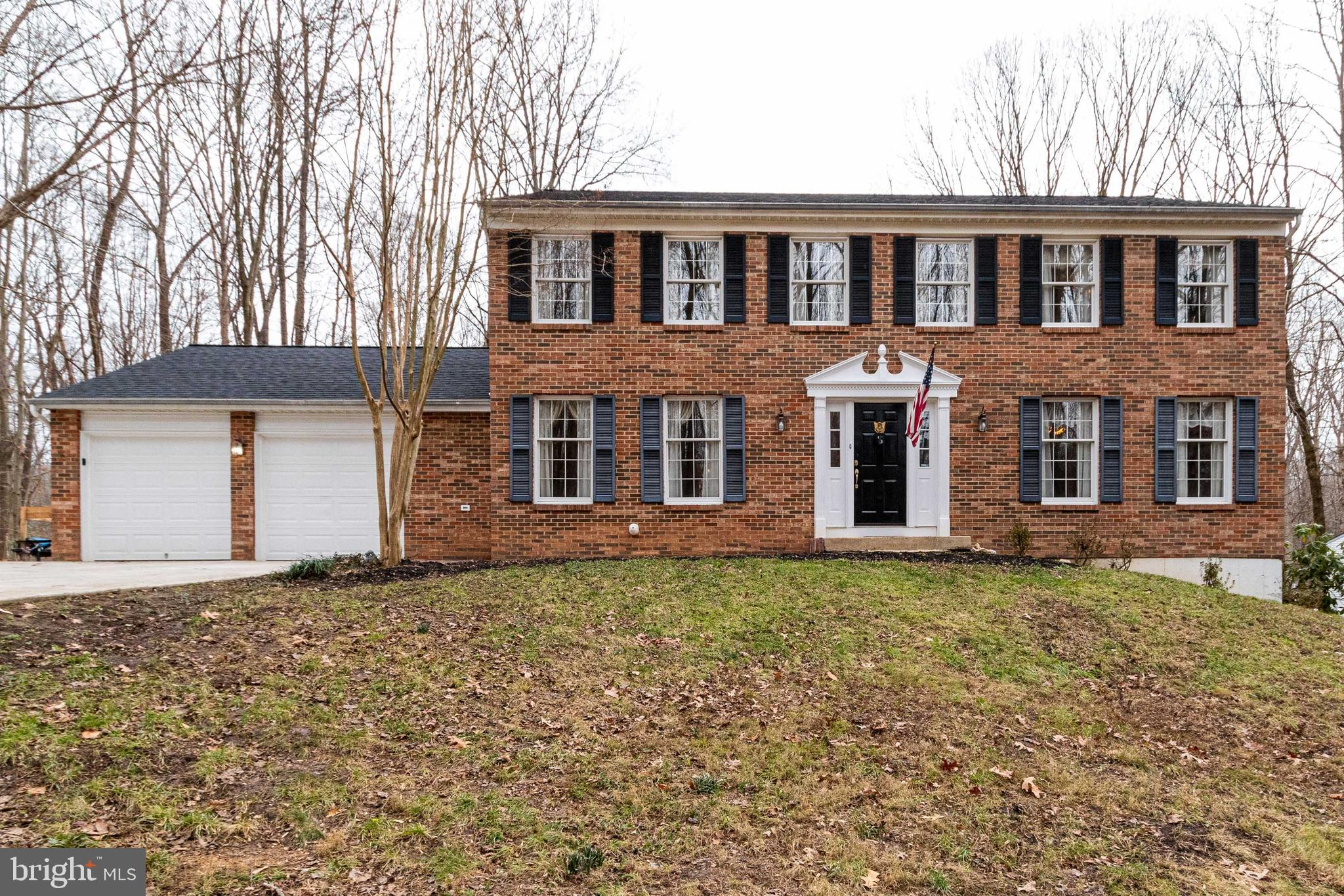 Proudly presenting a warm and wonderful brick front home on a cul-de-sac lot.  The front yard has lu
