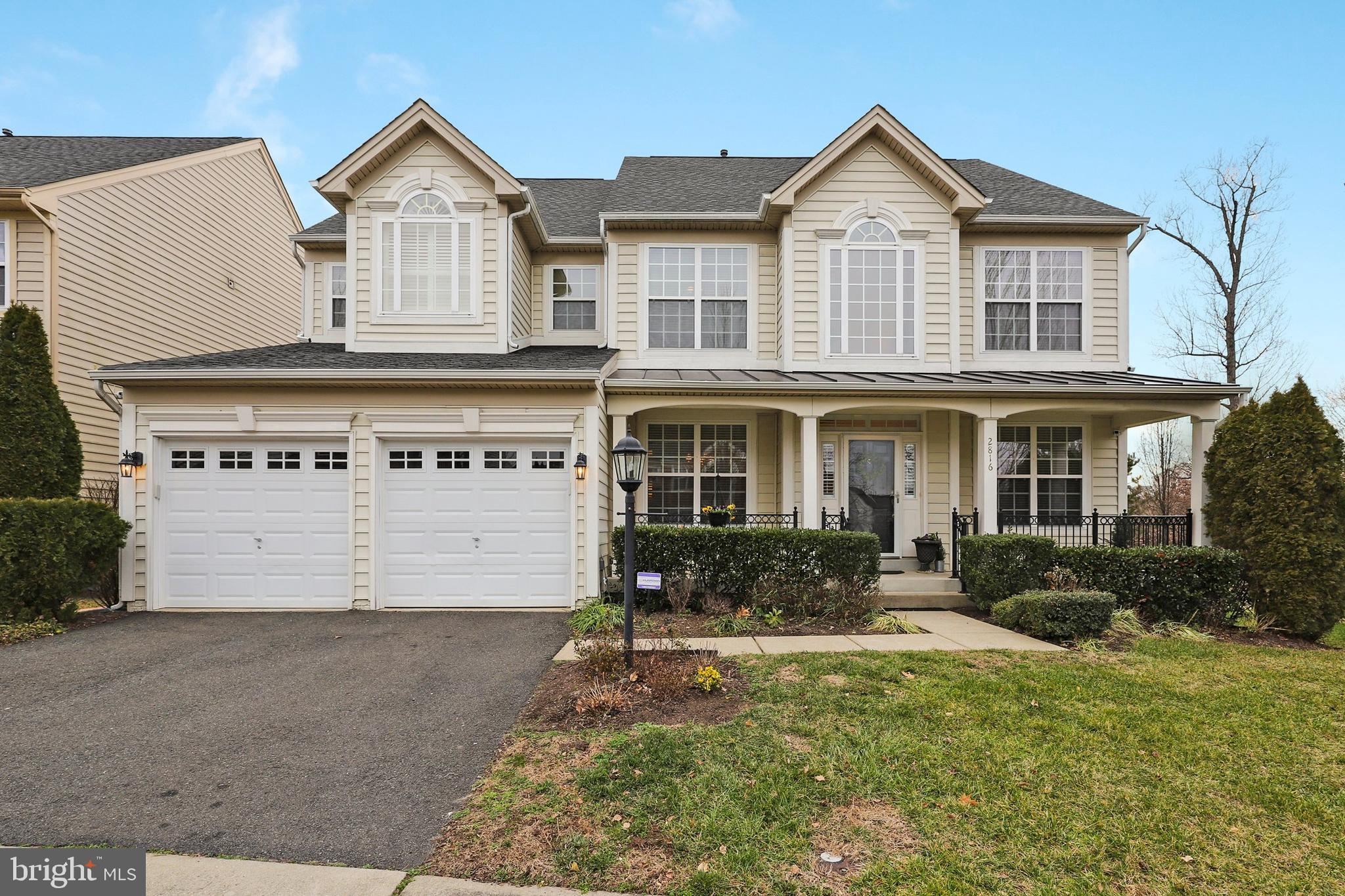 Welcome home to this wonderful & well-maintained 4 bedroom, 4.5 bath colonial in the highly sought a