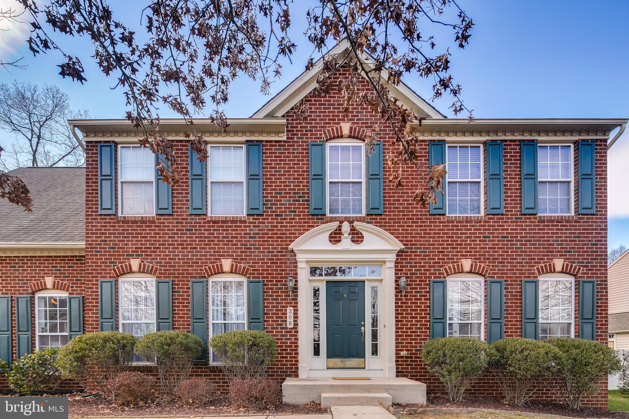 Gorgeous colonial in quaint Cattail Passage where cozy meets convenient in the heart of Severna Park