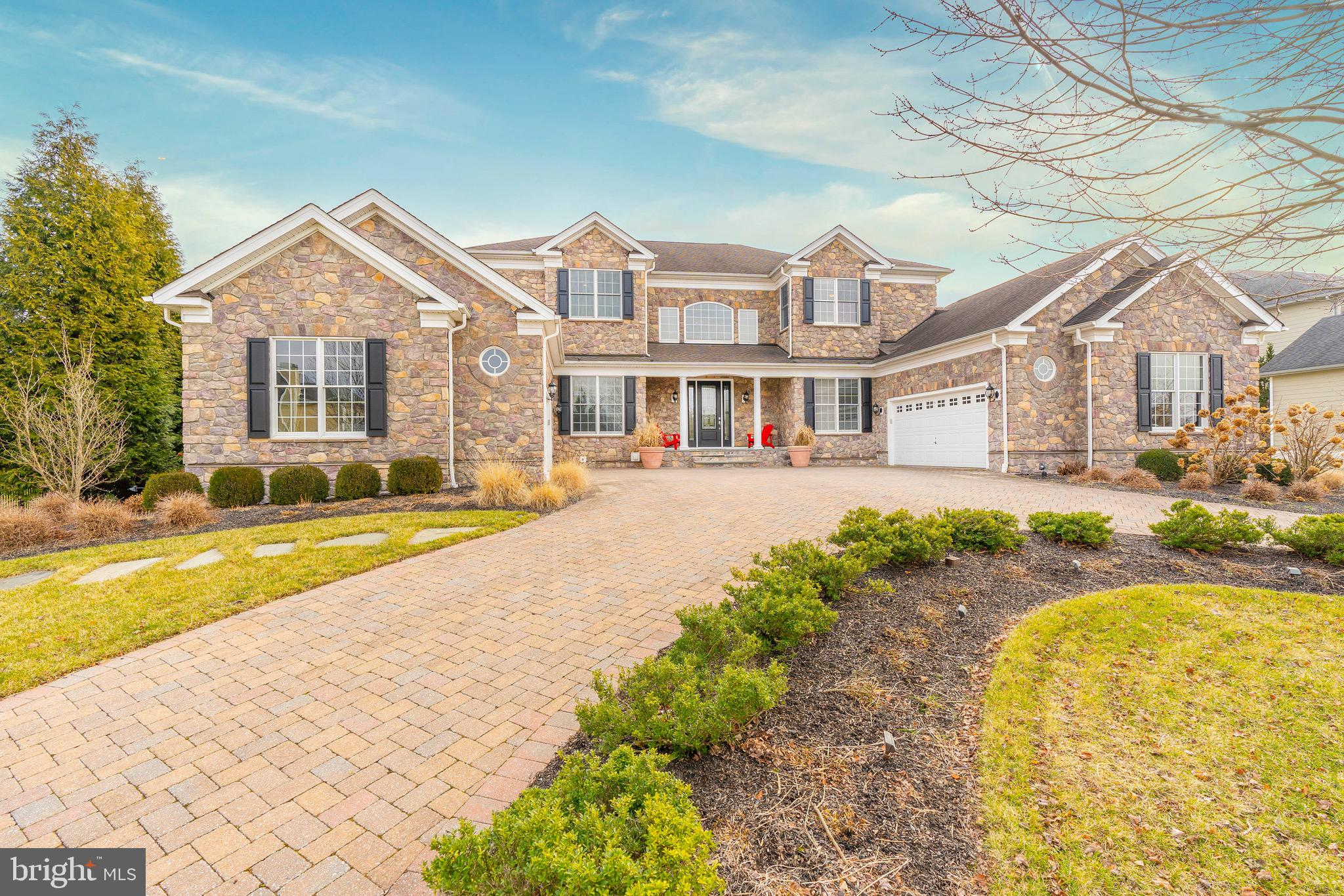 Located in Brandywine Hunt, this luxury Toll Brothers Malvern model is a blank canvas ready for you