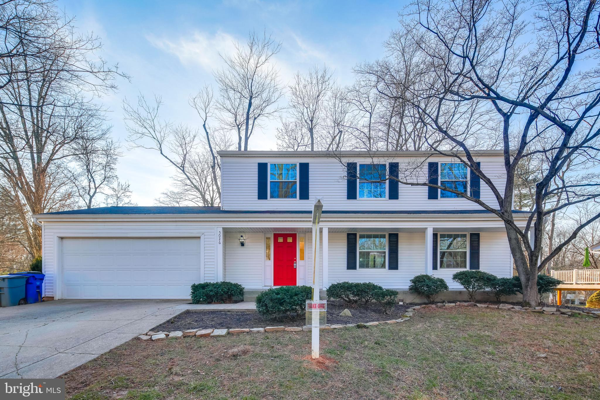 Fantastic 5 bedroom colonial set on a quiet cul-de-sac in Columbia Maryland. Conveniently located cl
