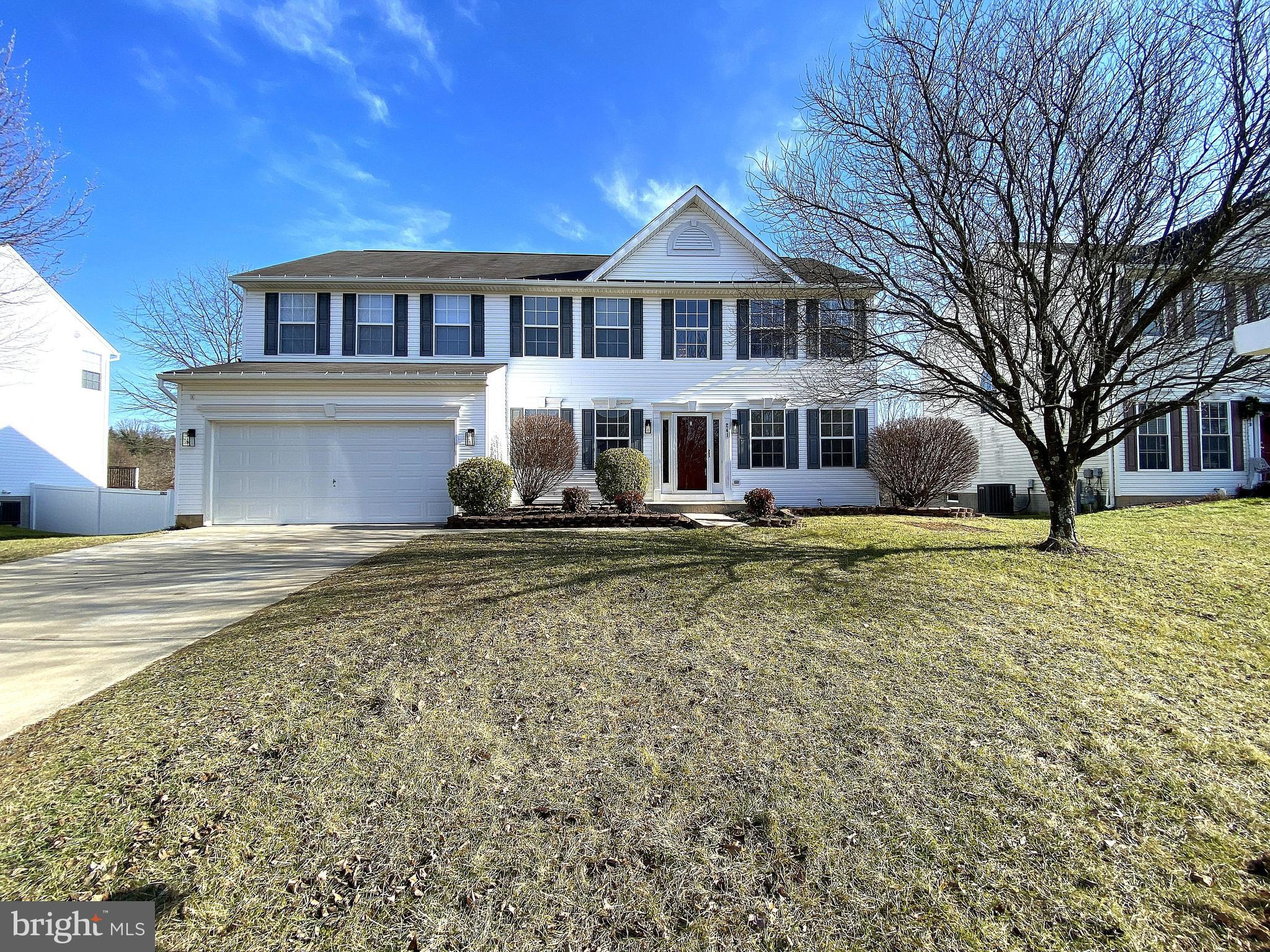 Spectacular 5 bedroom, 2 Full Bath/2 Half Bath Colonial located in Stoneridge Overlook with the pote
