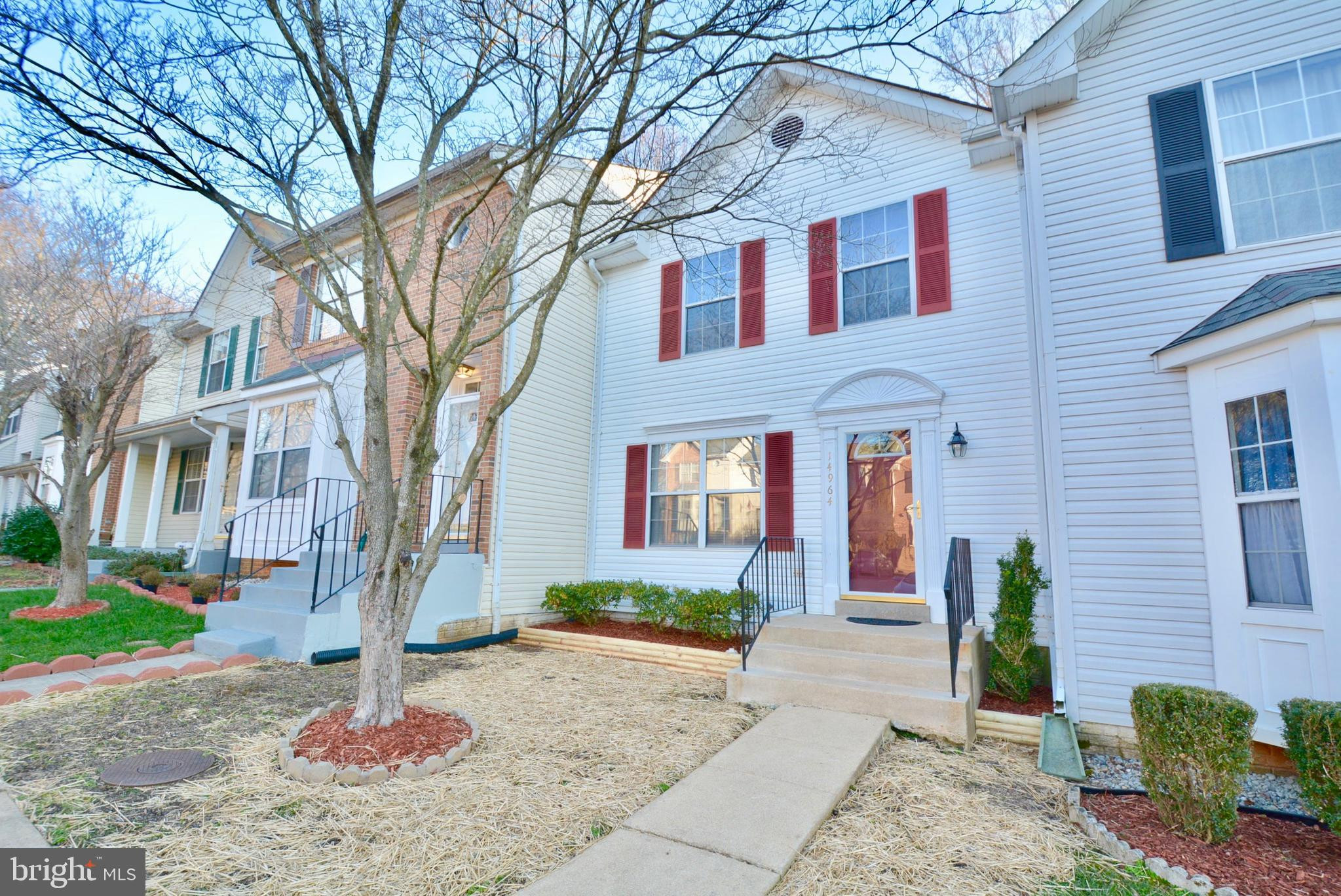 Beautiful three finished level townhome with many updates!  New roof!  Fresh paint and carpet throug