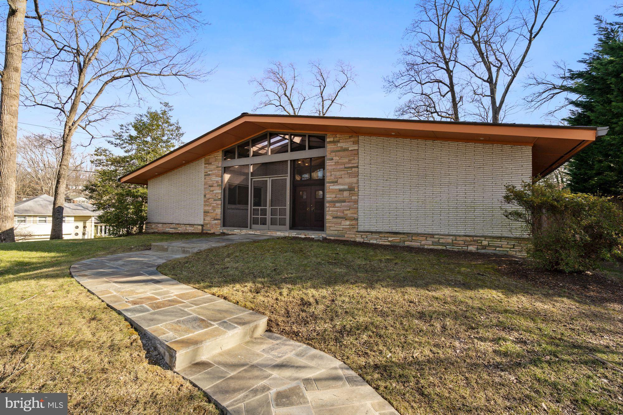 Photos of these amazing spaces are up now! True Mid-Century Modern! This home's clean lines, excepti
