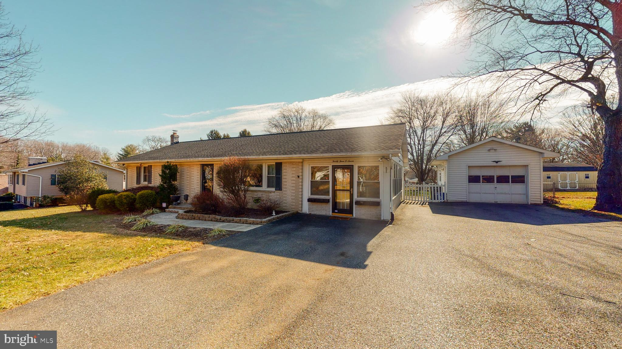 Possible 4 Bed Rancher in Fallston School Zone! Highlights of This Charming Home Include: Open Conce