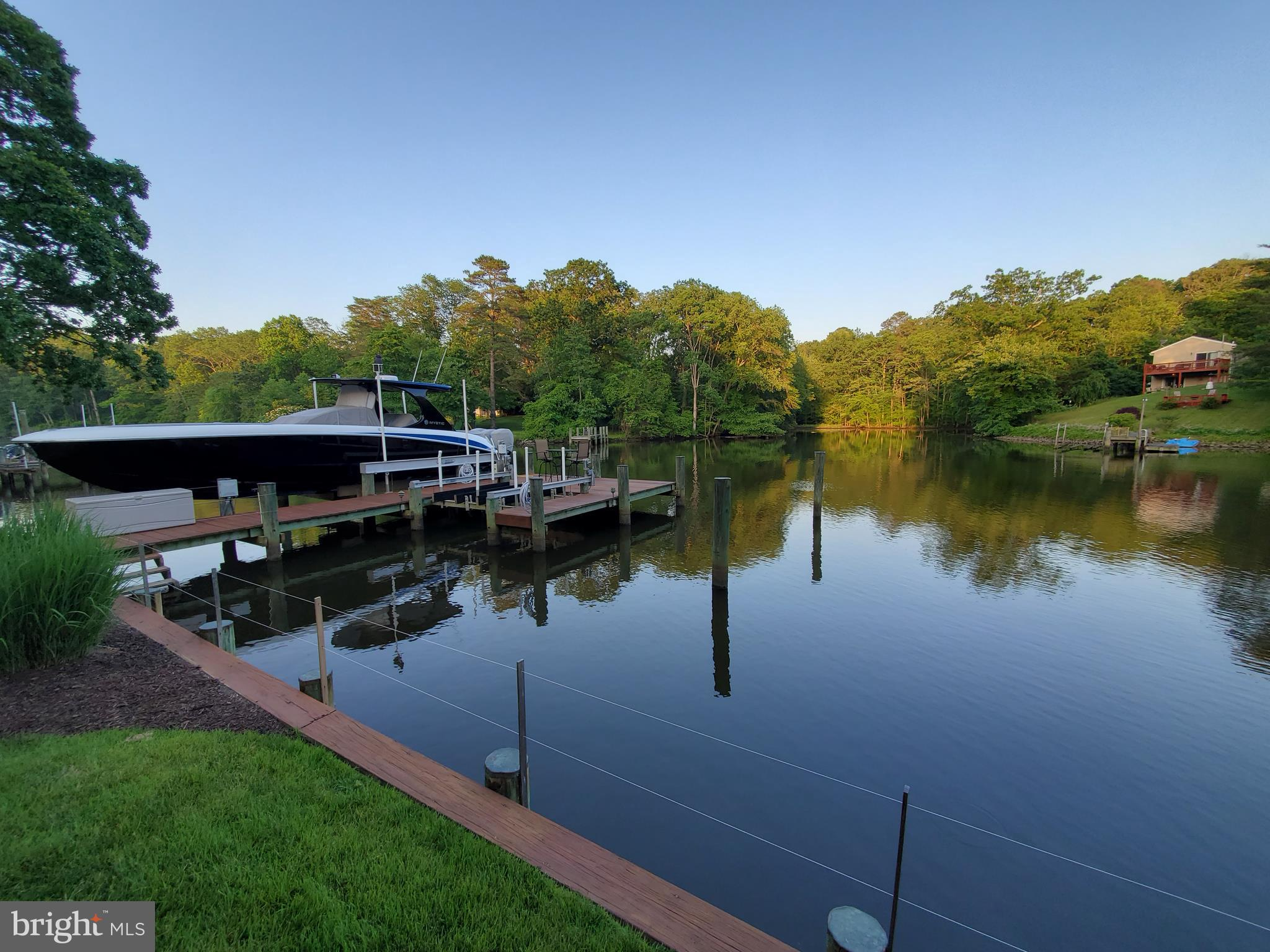 Waterfront home that offers a perfect storm for everyone. Large 15x15 walk in closet for her and a k