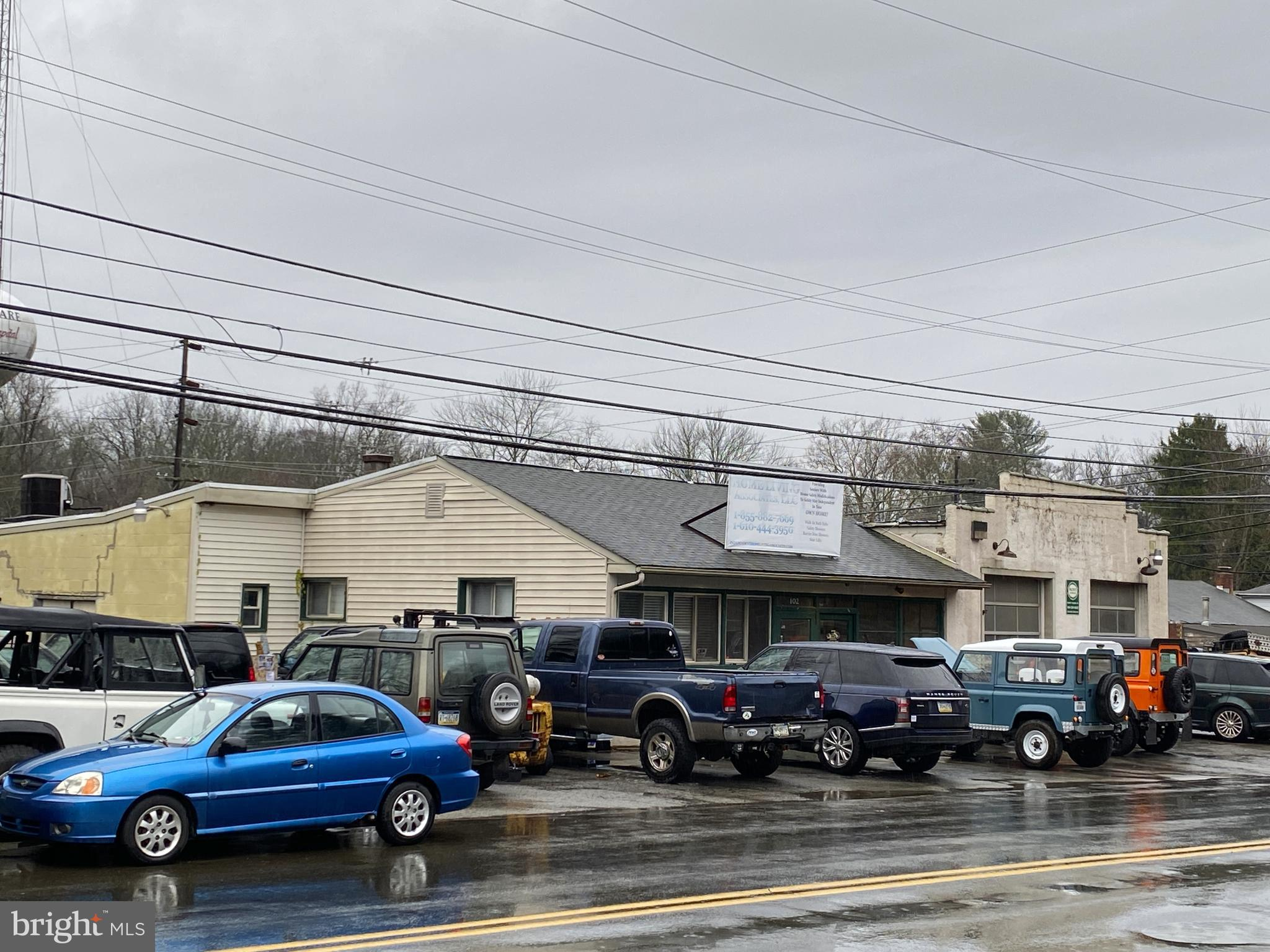 13,212 sf building includes multiple spaces. Space 1: Auto-related facility which features retail parts store space, garage and ample outdoor storage space. Space 2: General Retail space. Conveniently located with the borough  of Kennett Square. Zoned C-2. Includes PA Parcel #03-03-0163 and #03-03-0162. Built in 1948. The Borough of Kennett Square draws visitor from all over, creating more opportunity for business owners. The town's population has an average household income more than $20,000 above the national average. There is assistance offered by Kennett Borough in all facets of opening a business here, such as ensuring compliance with any applicable building codes, offering businesses cooperative advertising and marketing opportunities. The Borough also provides business owners support and networking resources such as Southern Chester County Chamber of Commerce, the Historic Kennett Square organization, and the offices of the Borough of Kennett Square. Just a mile off the US-1 interchange.
