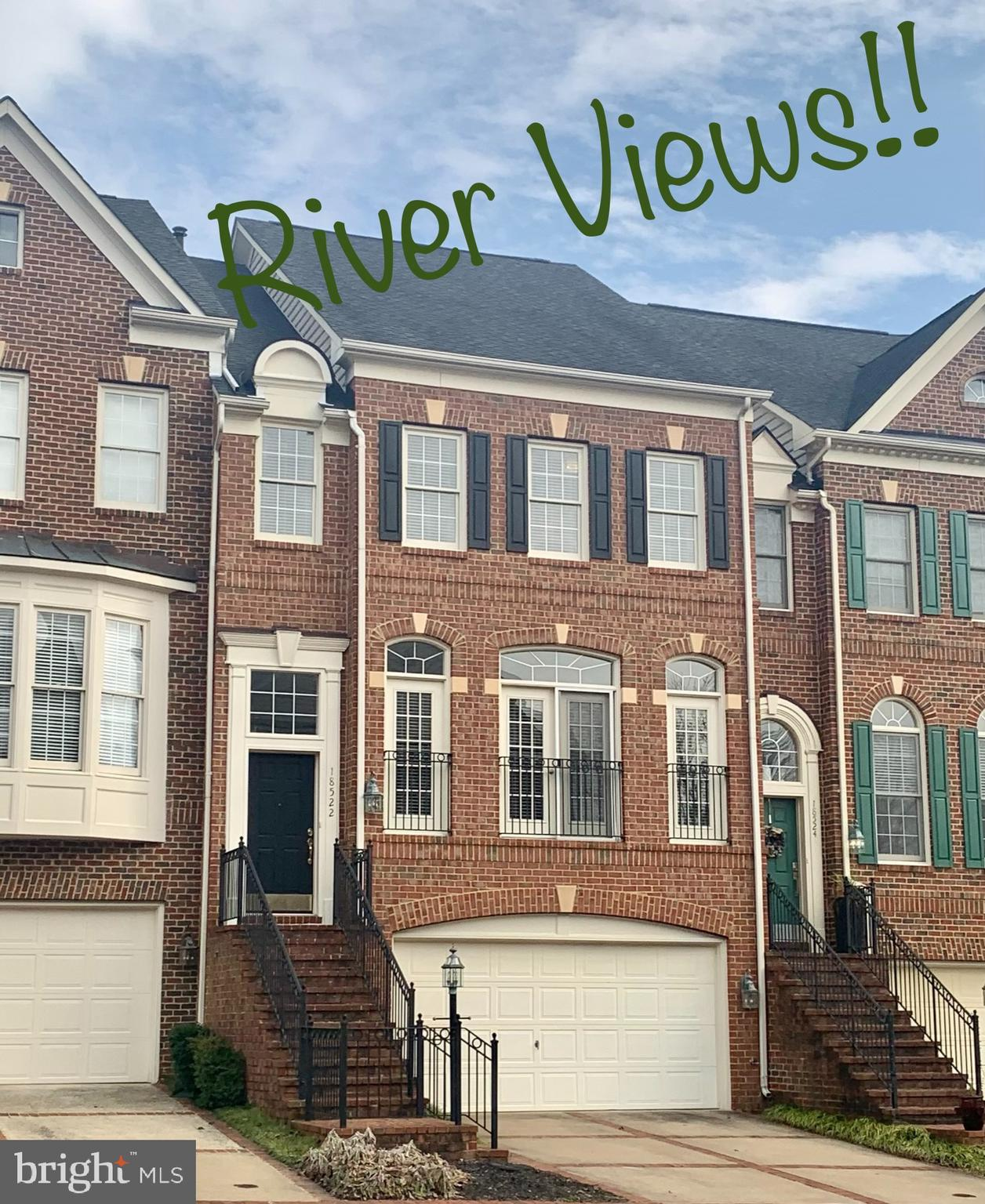 What are you waiting for? Four levels, patio and deck,  backing to nature,  views of the Potomac Riv