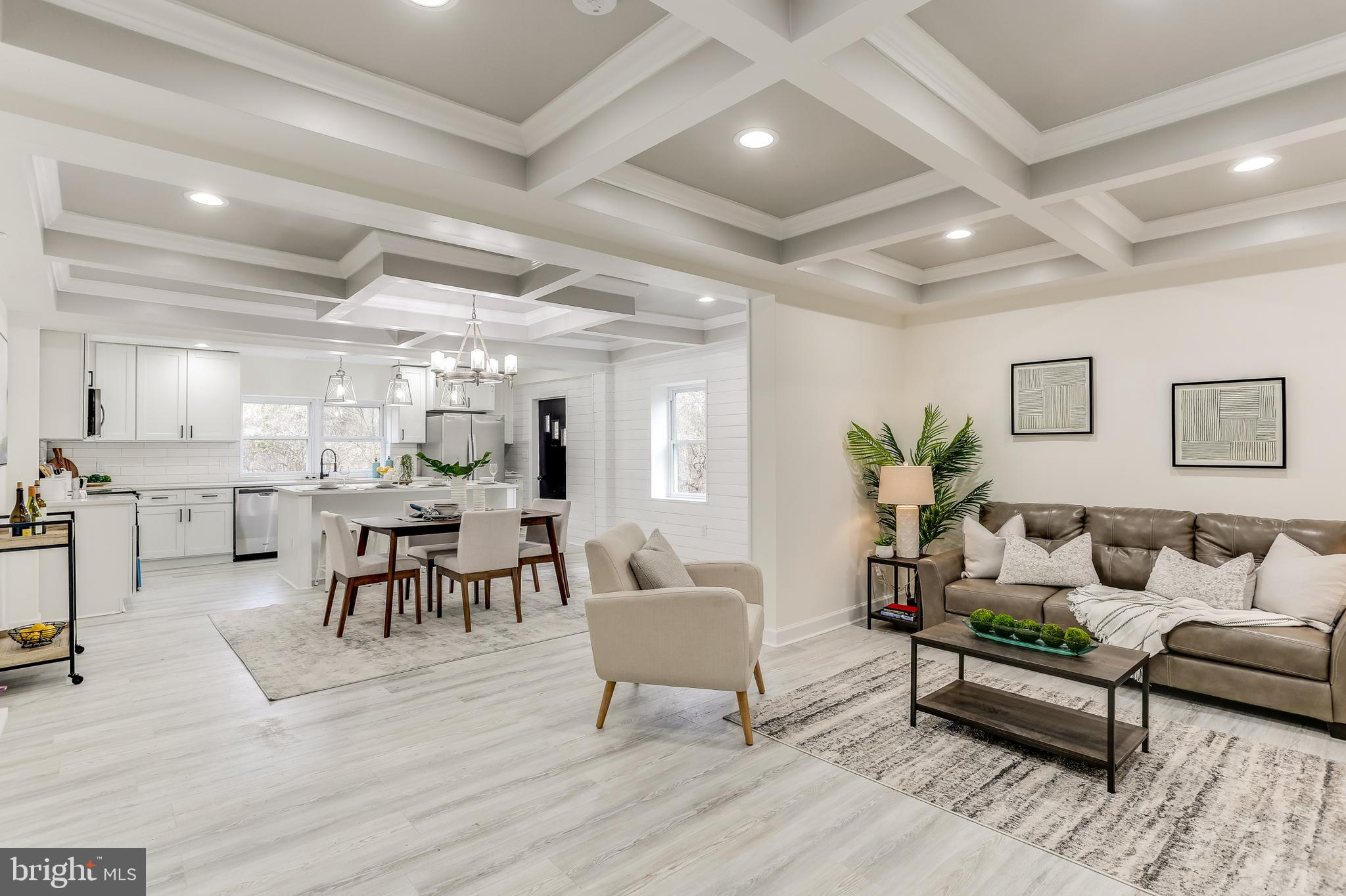 Over 2600 Square Feet of Finished Living Space In This Beautiful Complete Renovation. Five Huge Bedr